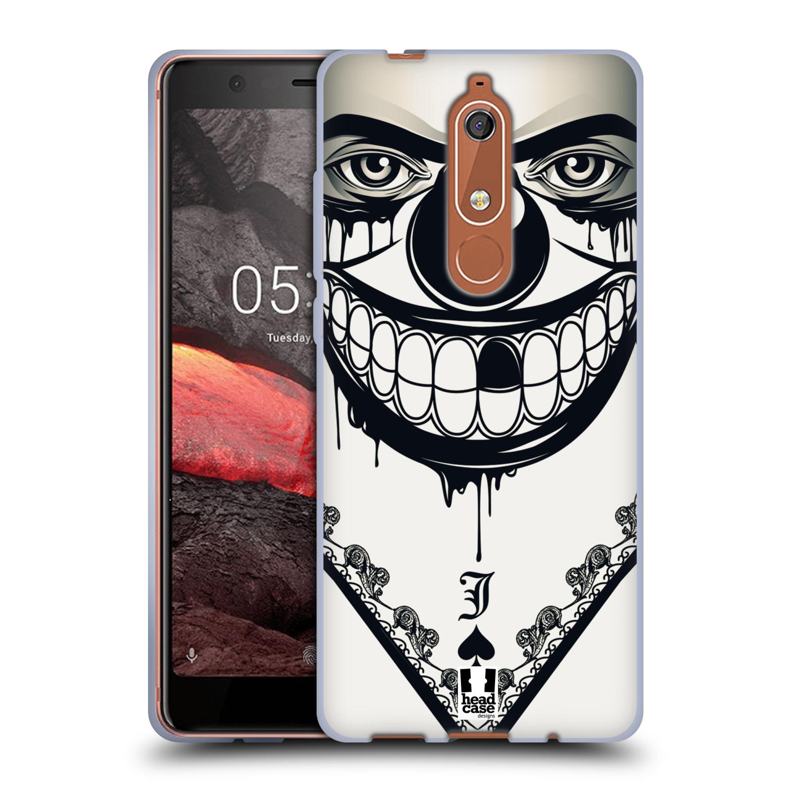 Silikonové pouzdro na mobil Nokia 5.1 - Head Case - ZLEJ KLAUN