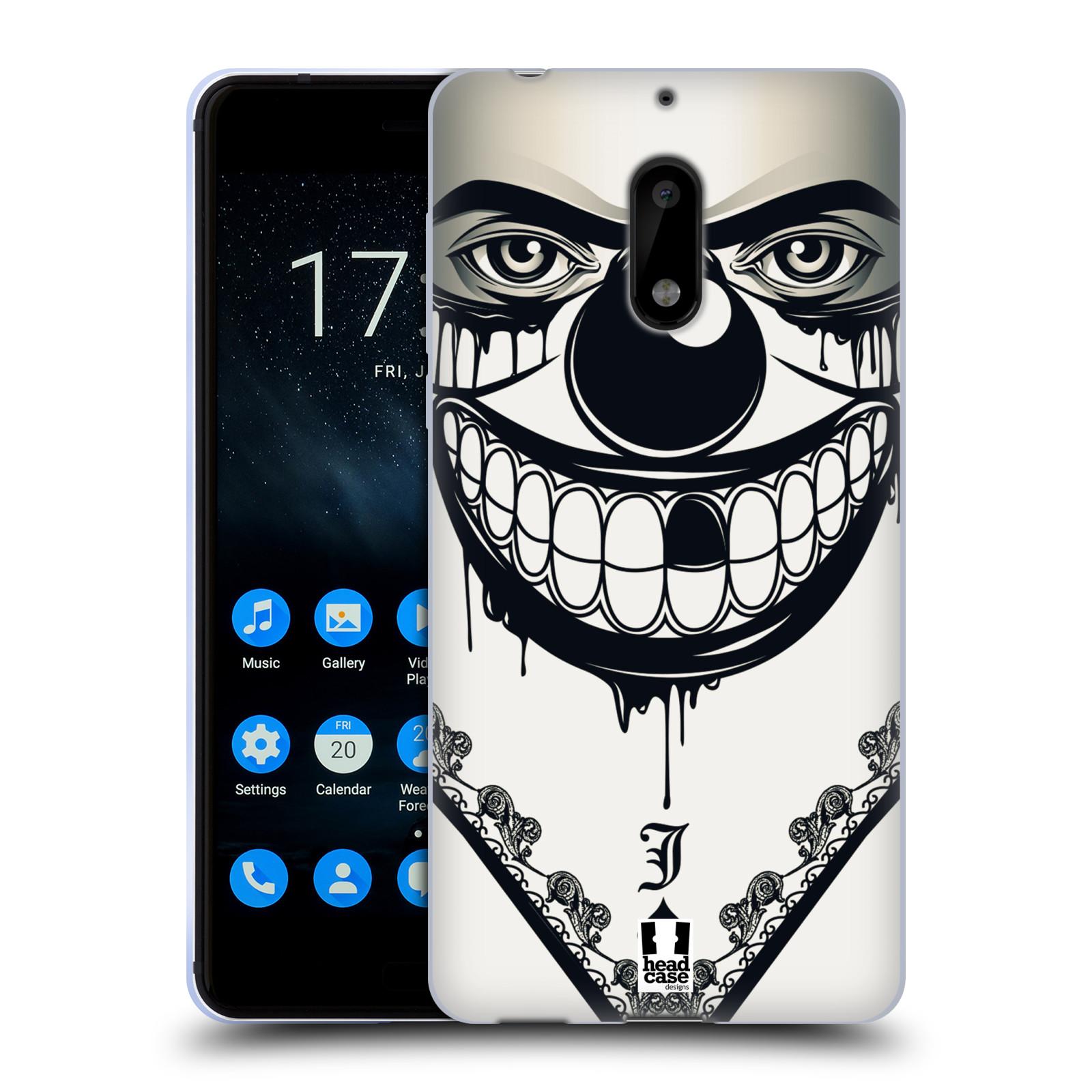 Silikonové pouzdro na mobil Nokia 6 - Head Case - ZLEJ KLAUN