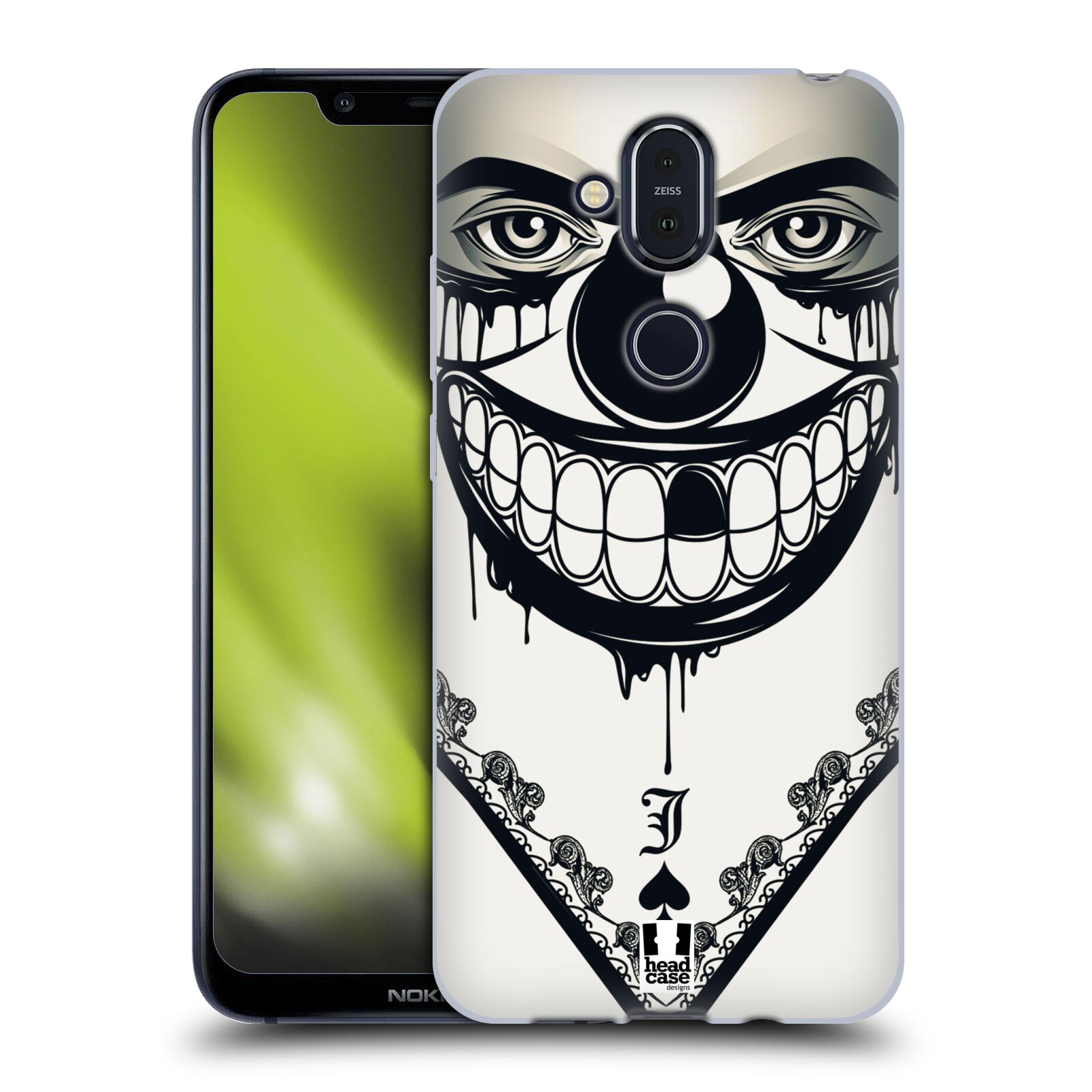 Silikonové pouzdro na mobil Nokia 8.1 - Head Case - ZLEJ KLAUN