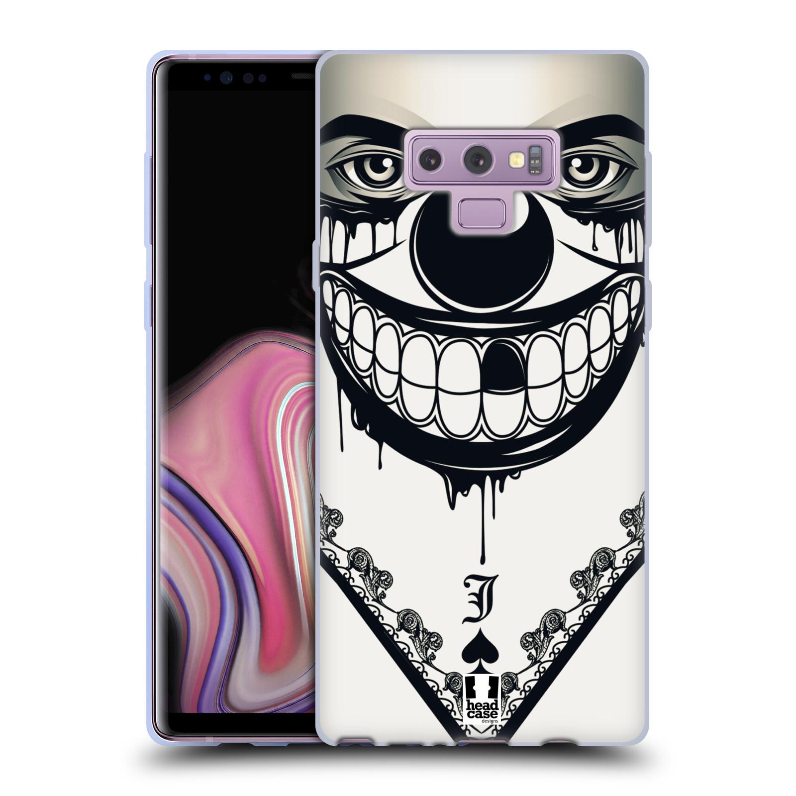 Silikonové pouzdro na mobil Samsung Galaxy Note 9 - Head Case - ZLEJ KLAUN
