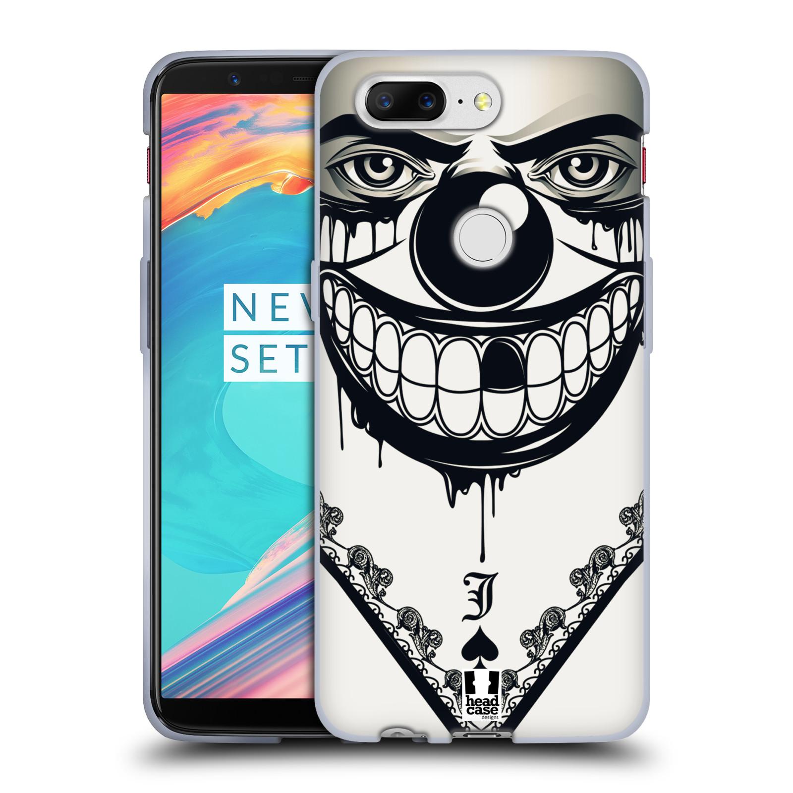 Silikonové pouzdro na mobil OnePlus 5T - Head Case - ZLEJ KLAUN