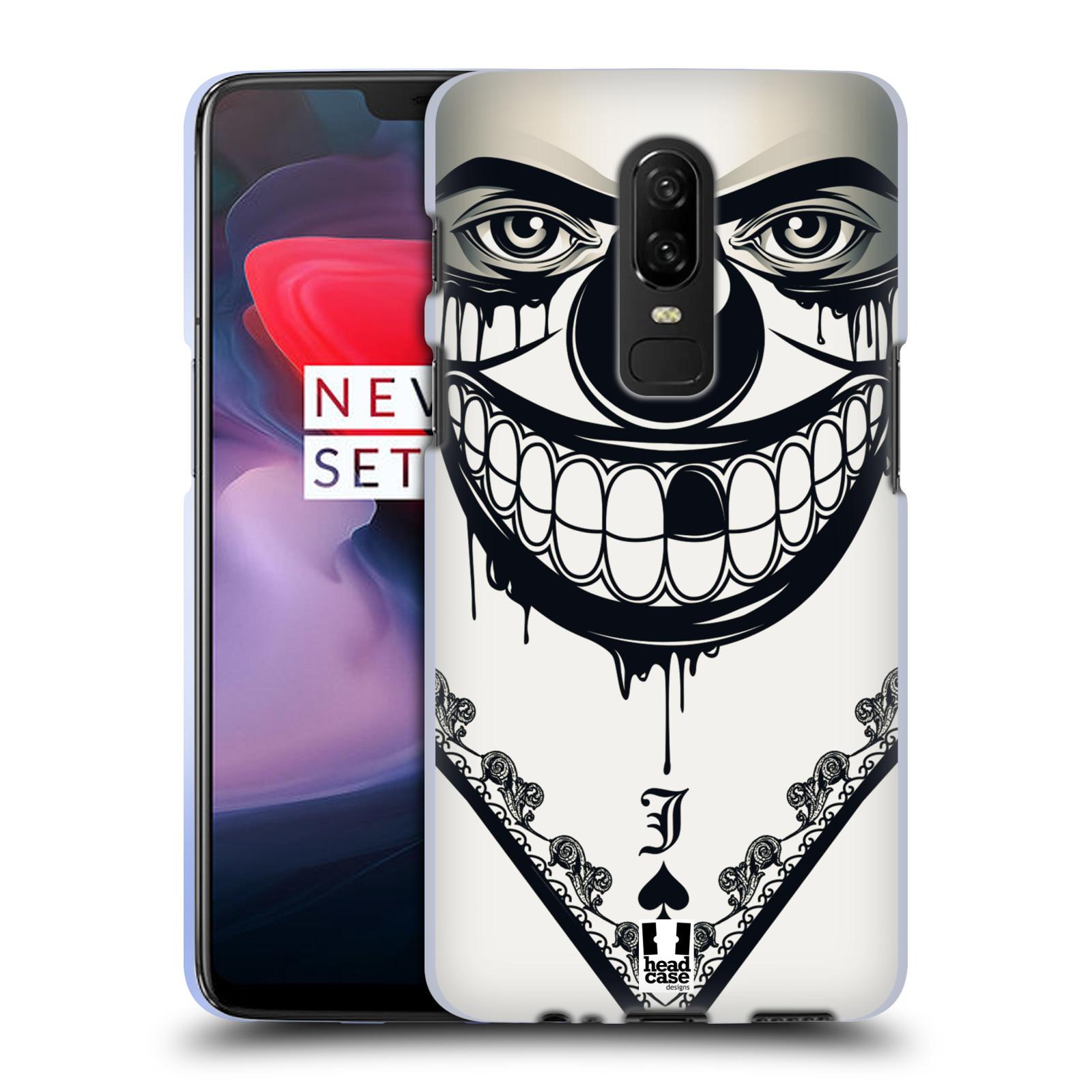 Silikonové pouzdro na mobil OnePlus 6 - Head Case - ZLEJ KLAUN