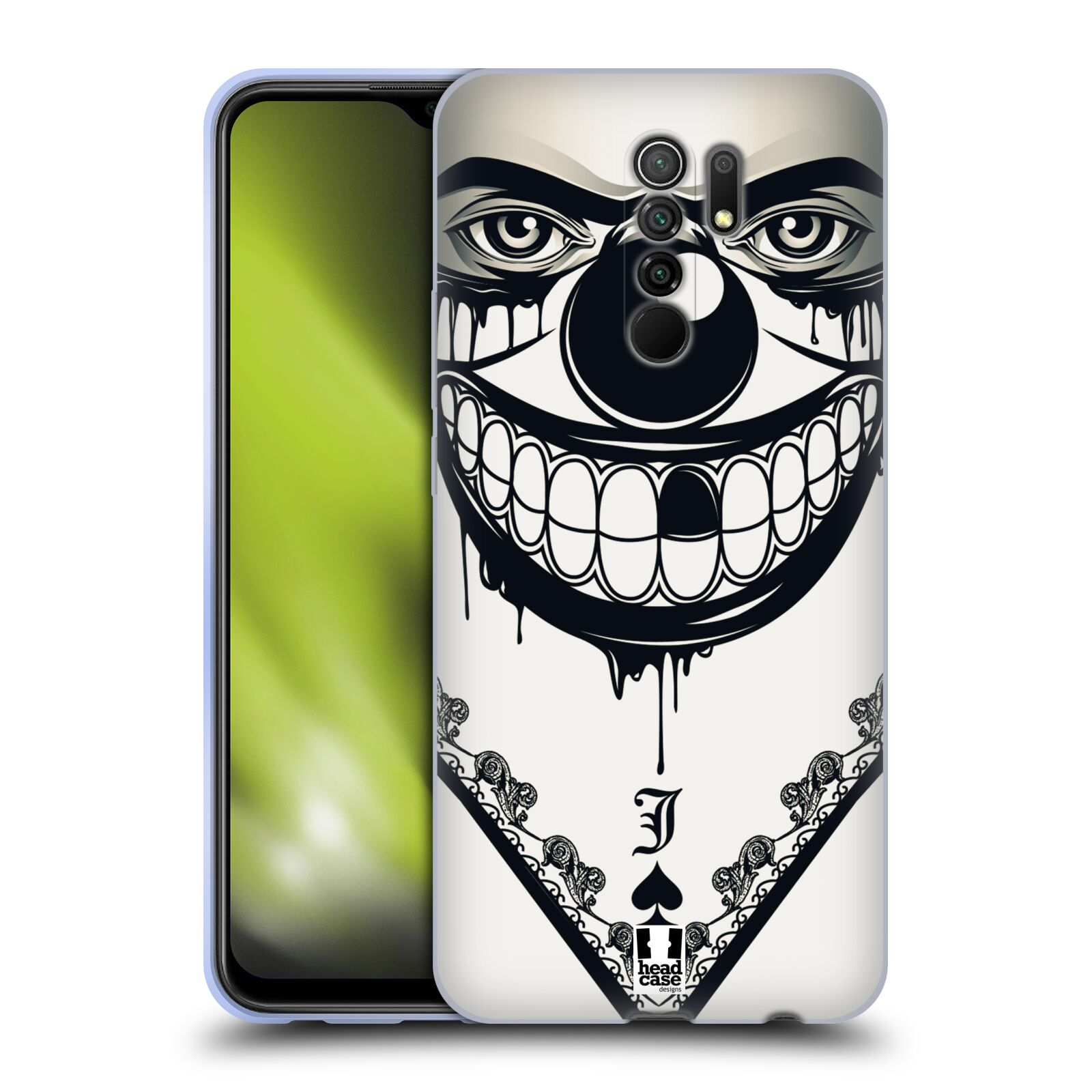 Silikonové pouzdro na mobil Xiaomi Redmi 9 - Head Case - ZLEJ KLAUN