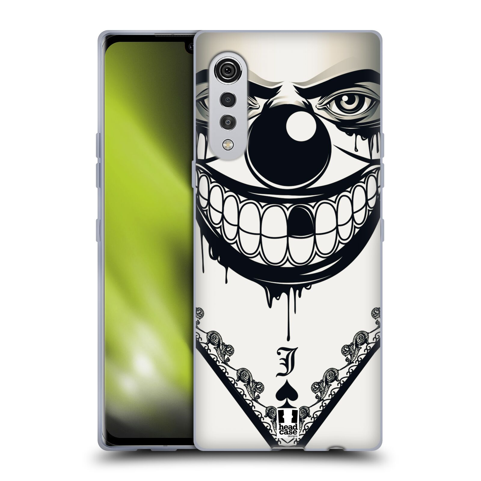 Silikonové pouzdro na mobil LG Velvet - Head Case - ZLEJ KLAUN