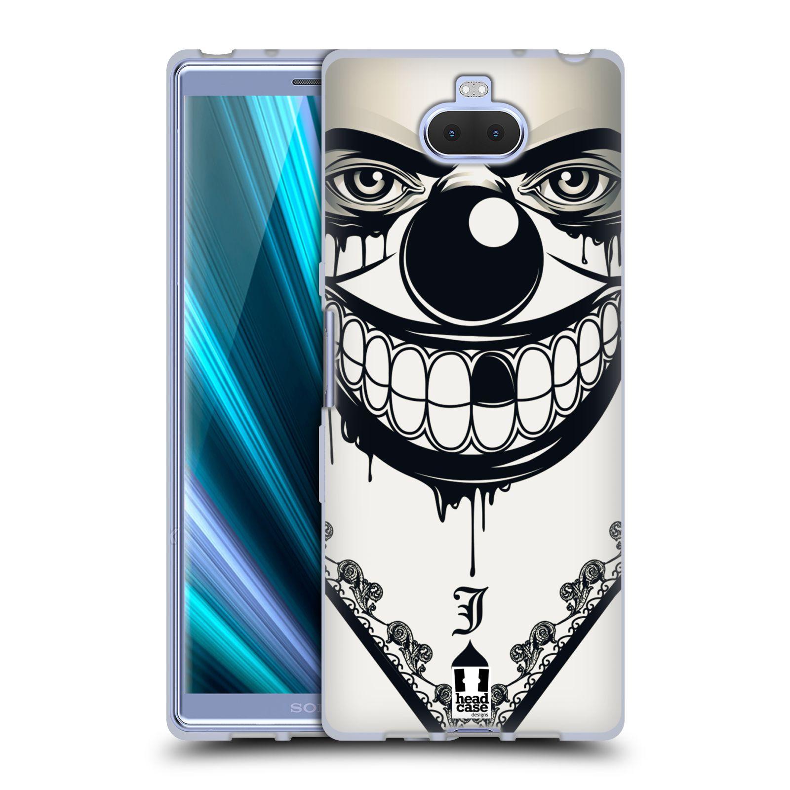 Silikonové pouzdro na mobil Sony Xperia 10 - Head Case - ZLEJ KLAUN