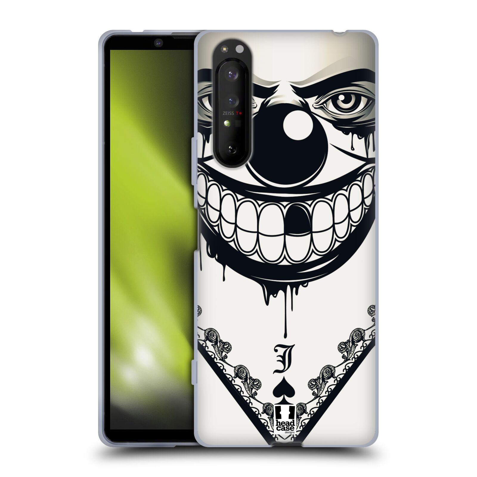 Silikonové pouzdro na mobil Sony Xperia 1 II - Head Case - ZLEJ KLAUN