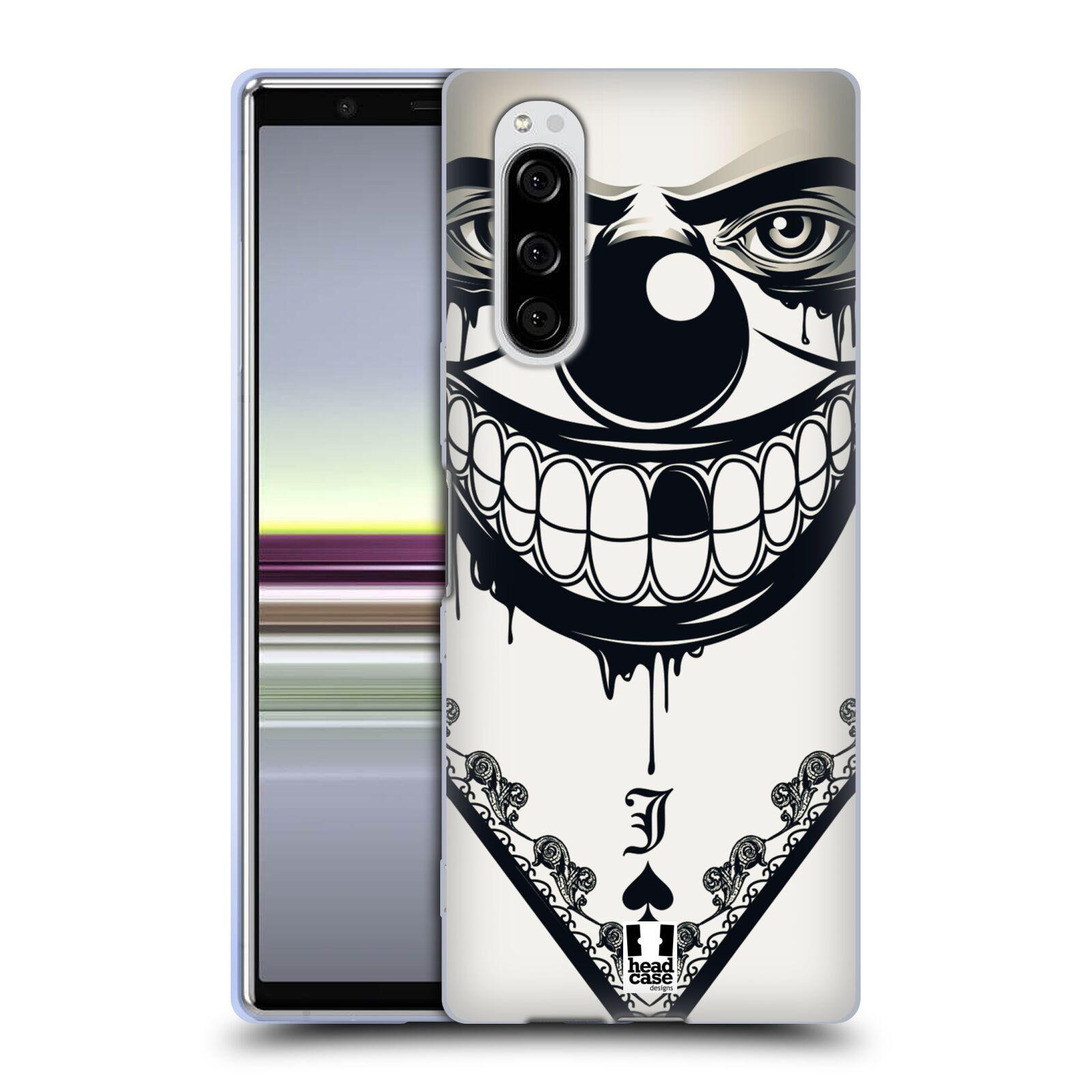 Silikonové pouzdro na mobil Sony Xperia 5 - Head Case - ZLEJ KLAUN