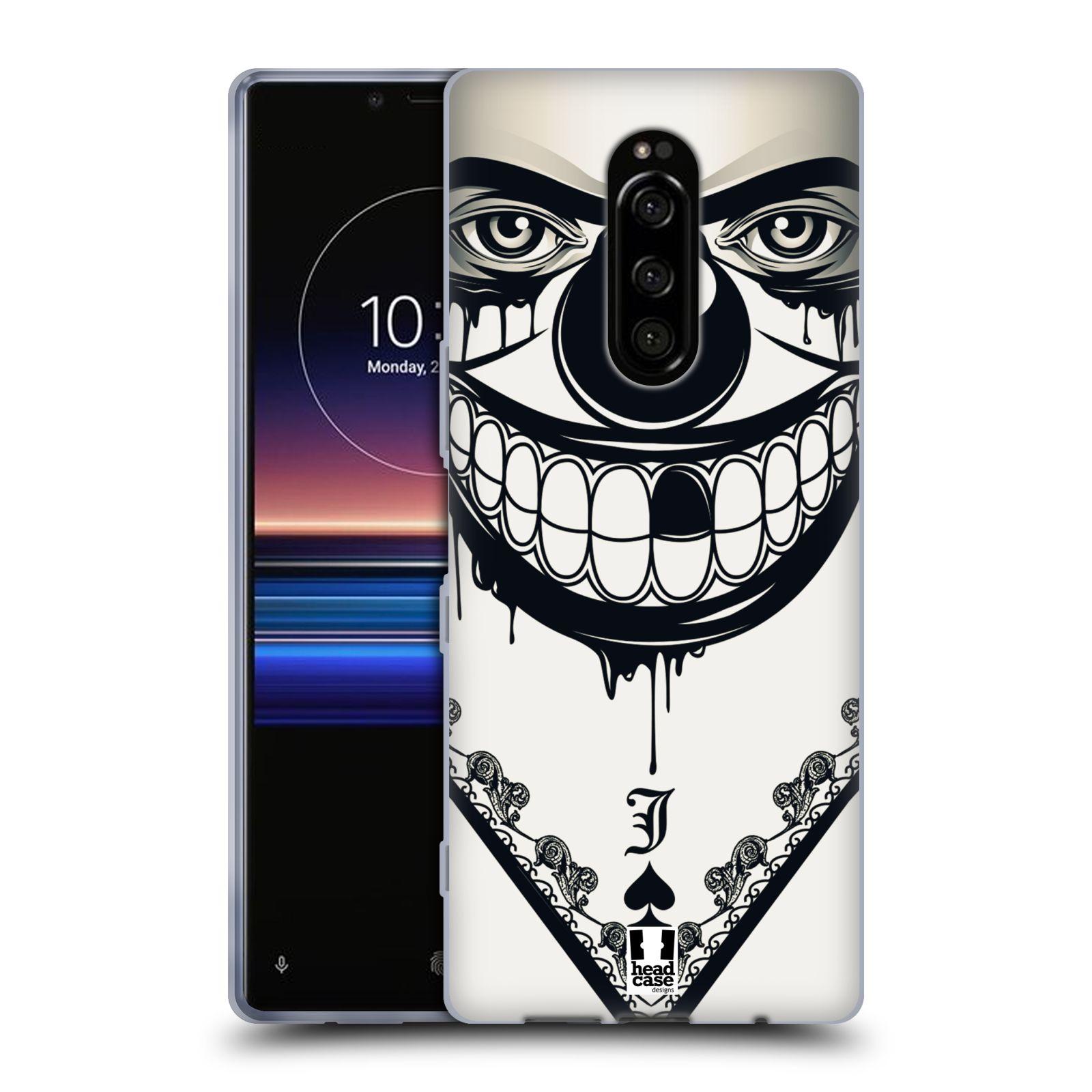 Silikonové pouzdro na mobil Sony Xperia 1 - Head Case - ZLEJ KLAUN