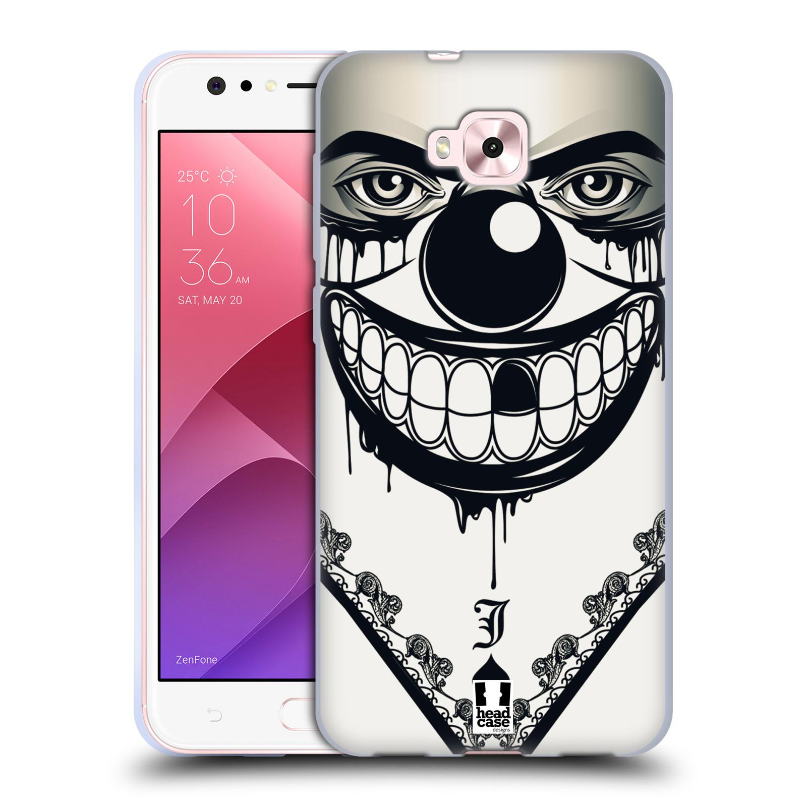 Silikonové pouzdro na mobil Asus Zenfone 4 Selfie ZD553KL - Head Case - ZLEJ KLAUN