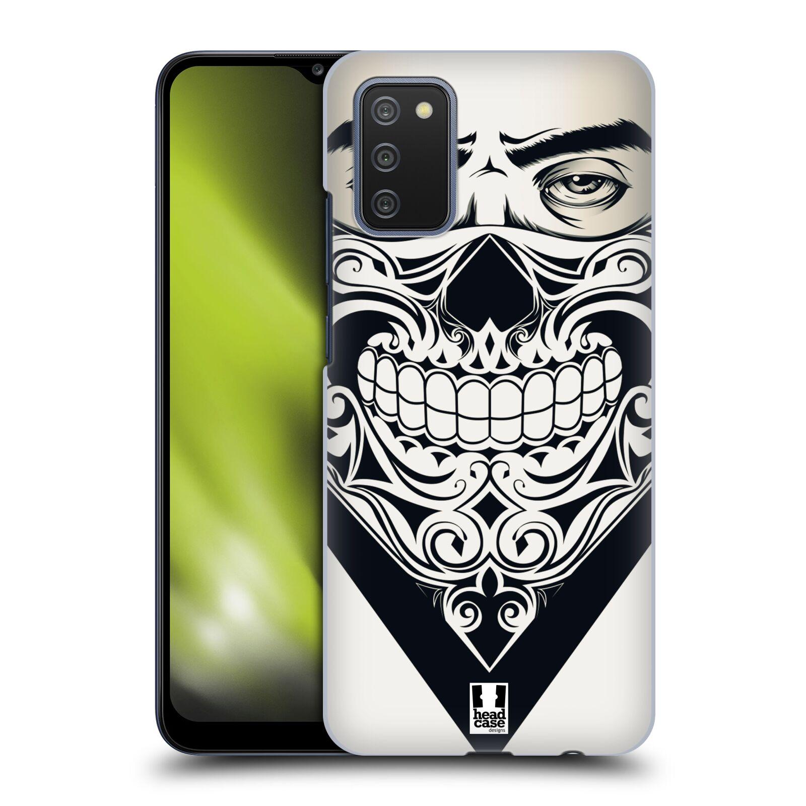 Plastové pouzdro na mobil Samsung Galaxy A02s - Head Case - LEBKA BANDANA
