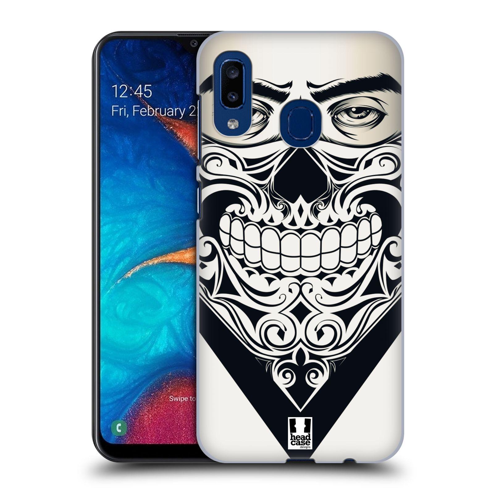 Plastové pouzdro na mobil Samsung Galaxy A20 - Head Case - LEBKA BANDANA