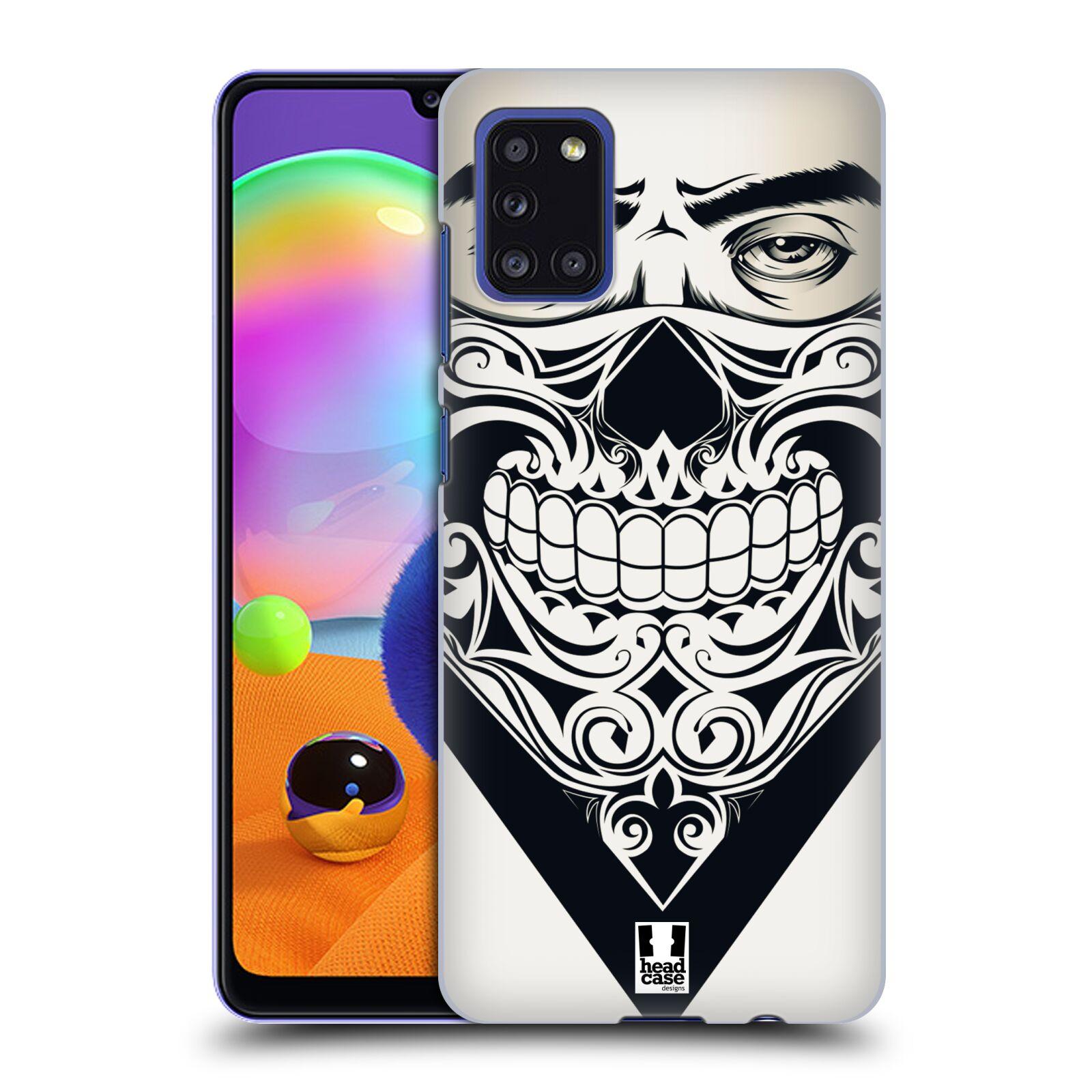 Plastové pouzdro na mobil Samsung Galaxy A31 - Head Case - LEBKA BANDANA