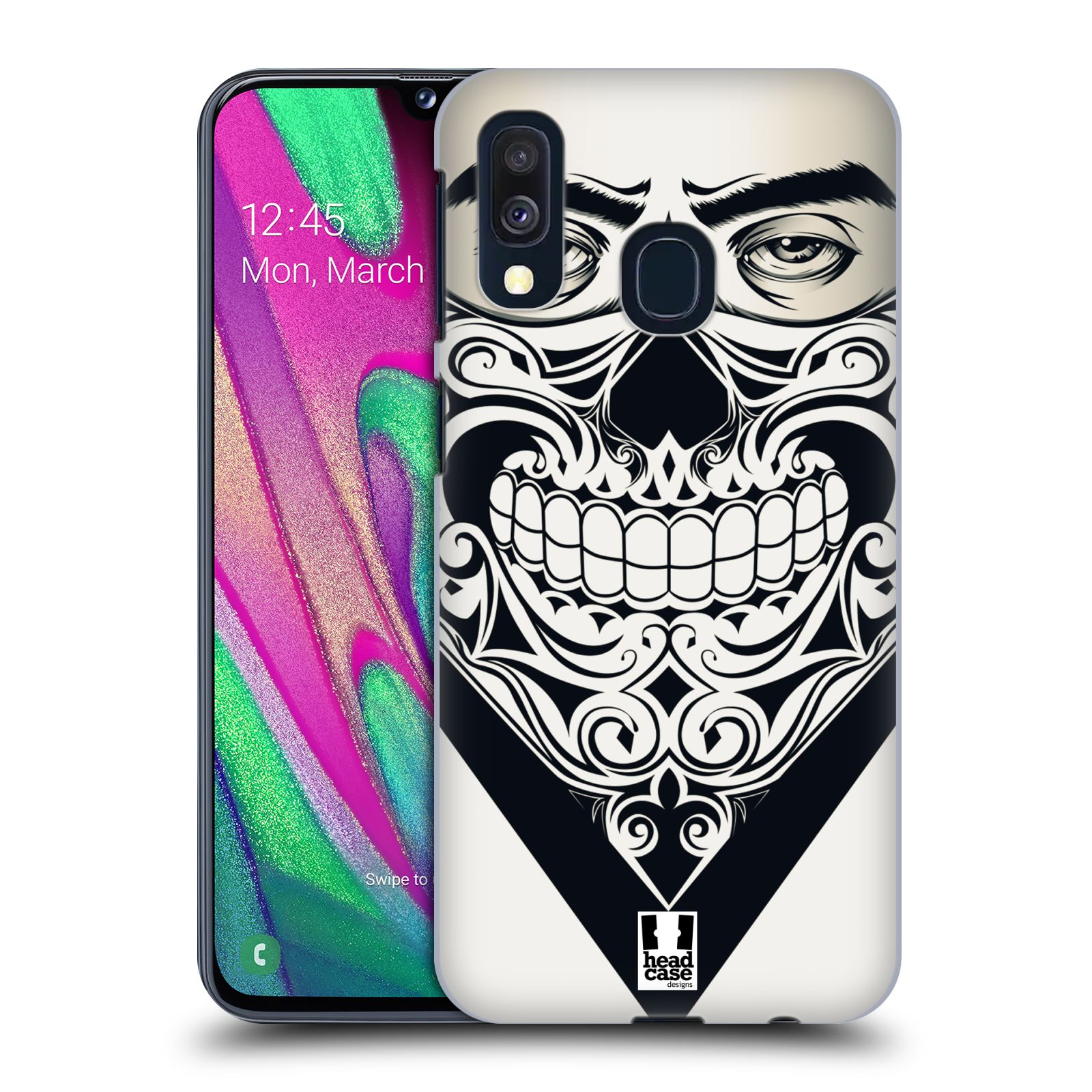 Plastové pouzdro na mobil Samsung Galaxy A40 - Head Case - LEBKA BANDANA