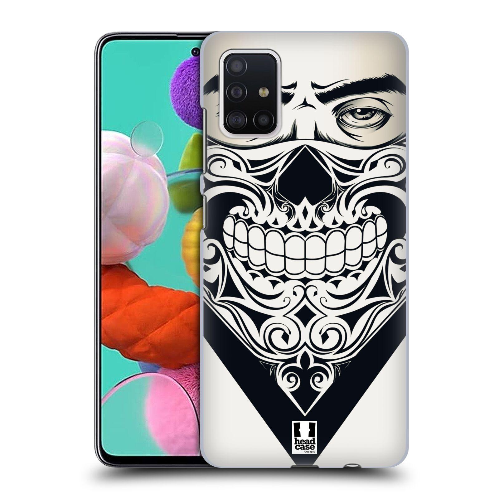 Plastové pouzdro na mobil Samsung Galaxy A51 - Head Case - LEBKA BANDANA