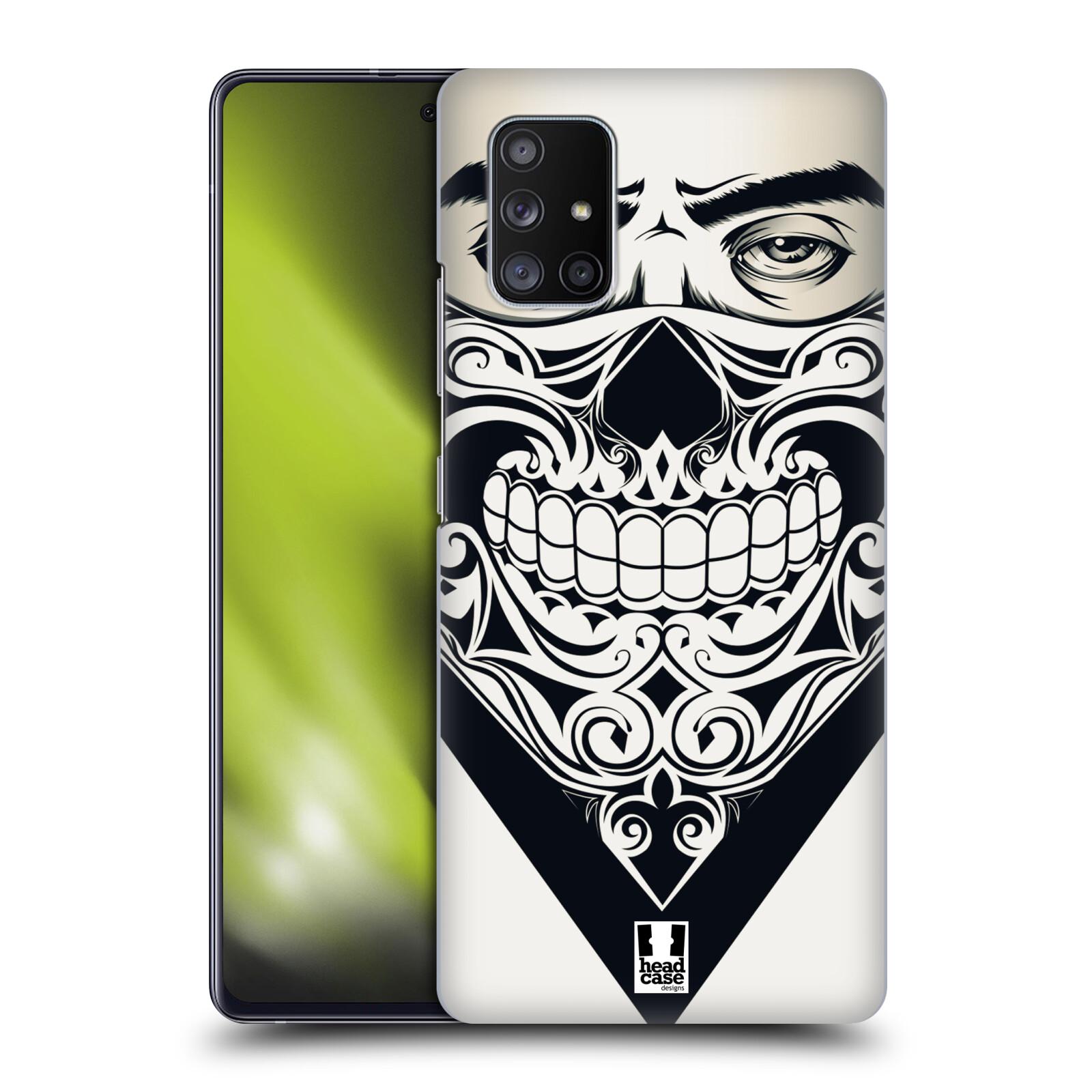 Plastové pouzdro na mobil Samsung Galaxy A51 5G - Head Case - LEBKA BANDANA