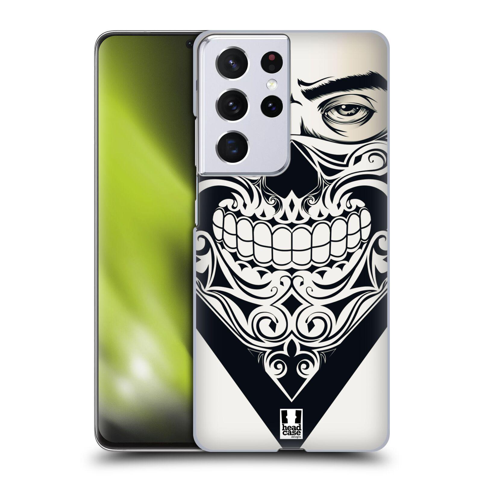 Plastové pouzdro na mobil Samsung Galaxy S21 Ultra 5G - Head Case - LEBKA BANDANA