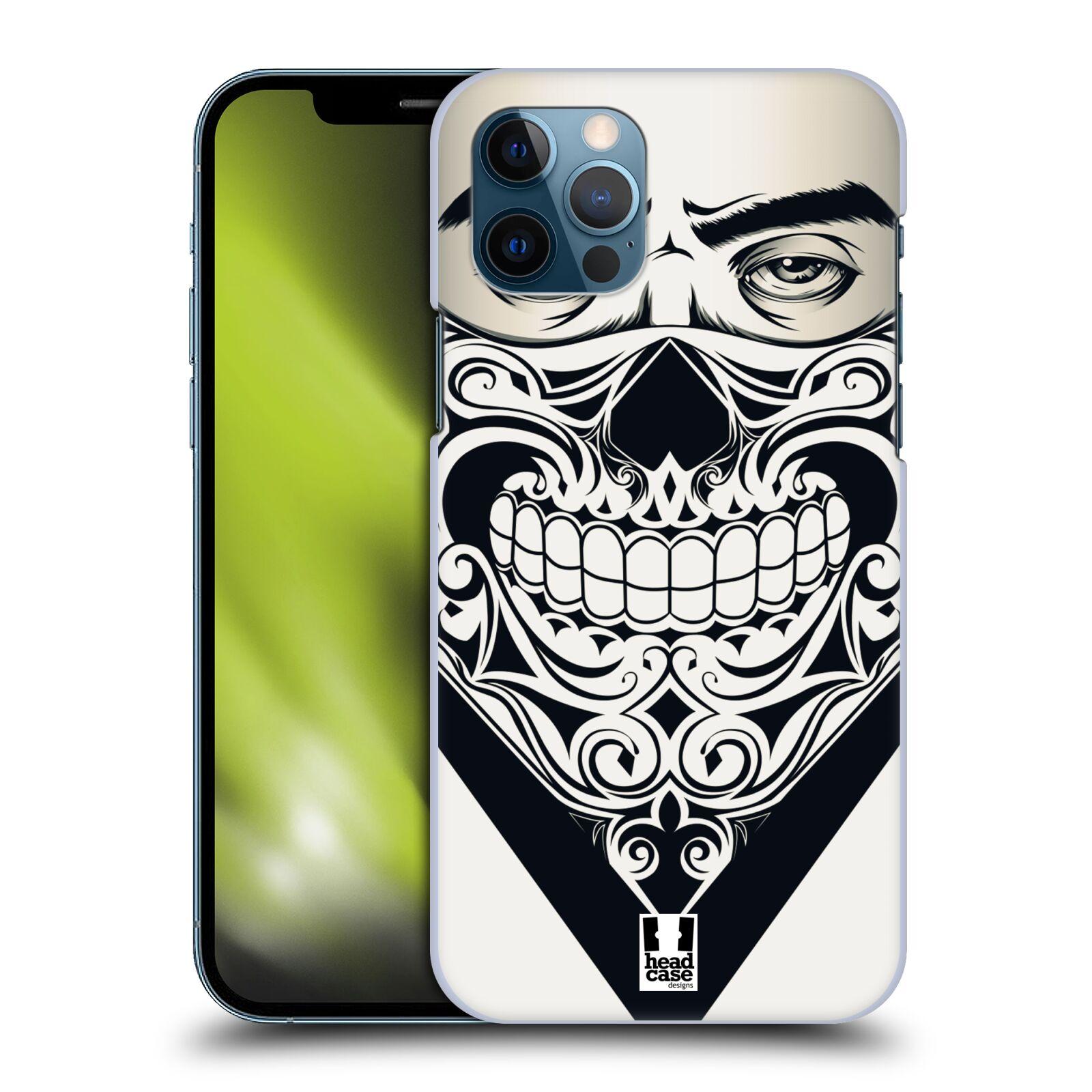 Plastové pouzdro na mobil Apple iPhone 12 / 12 Pro - Head Case - LEBKA BANDANA