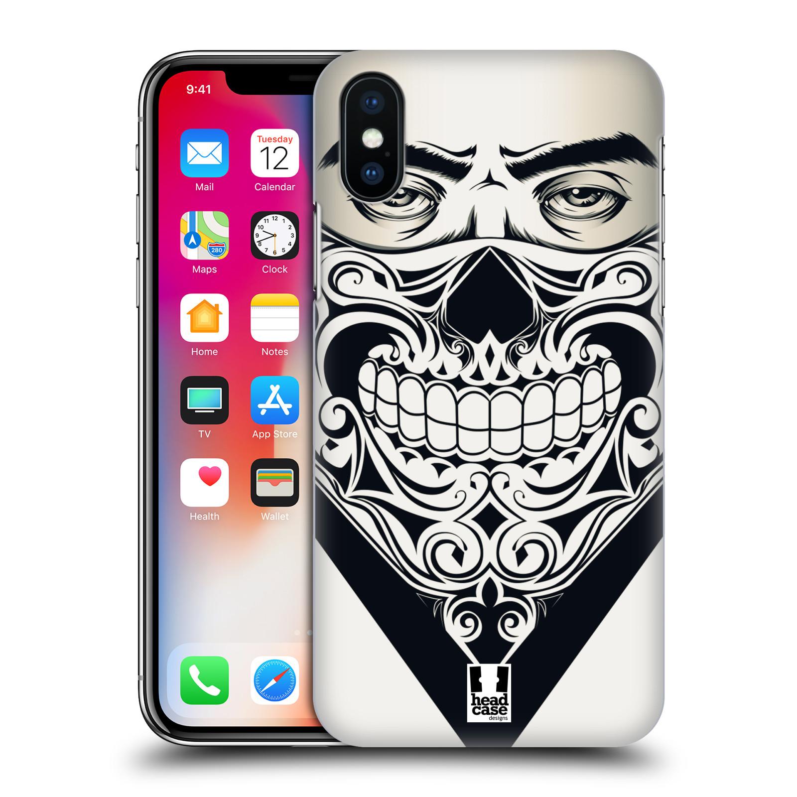 Plastové pouzdro na mobil Apple iPhone XS - Head Case - LEBKA BANDANA