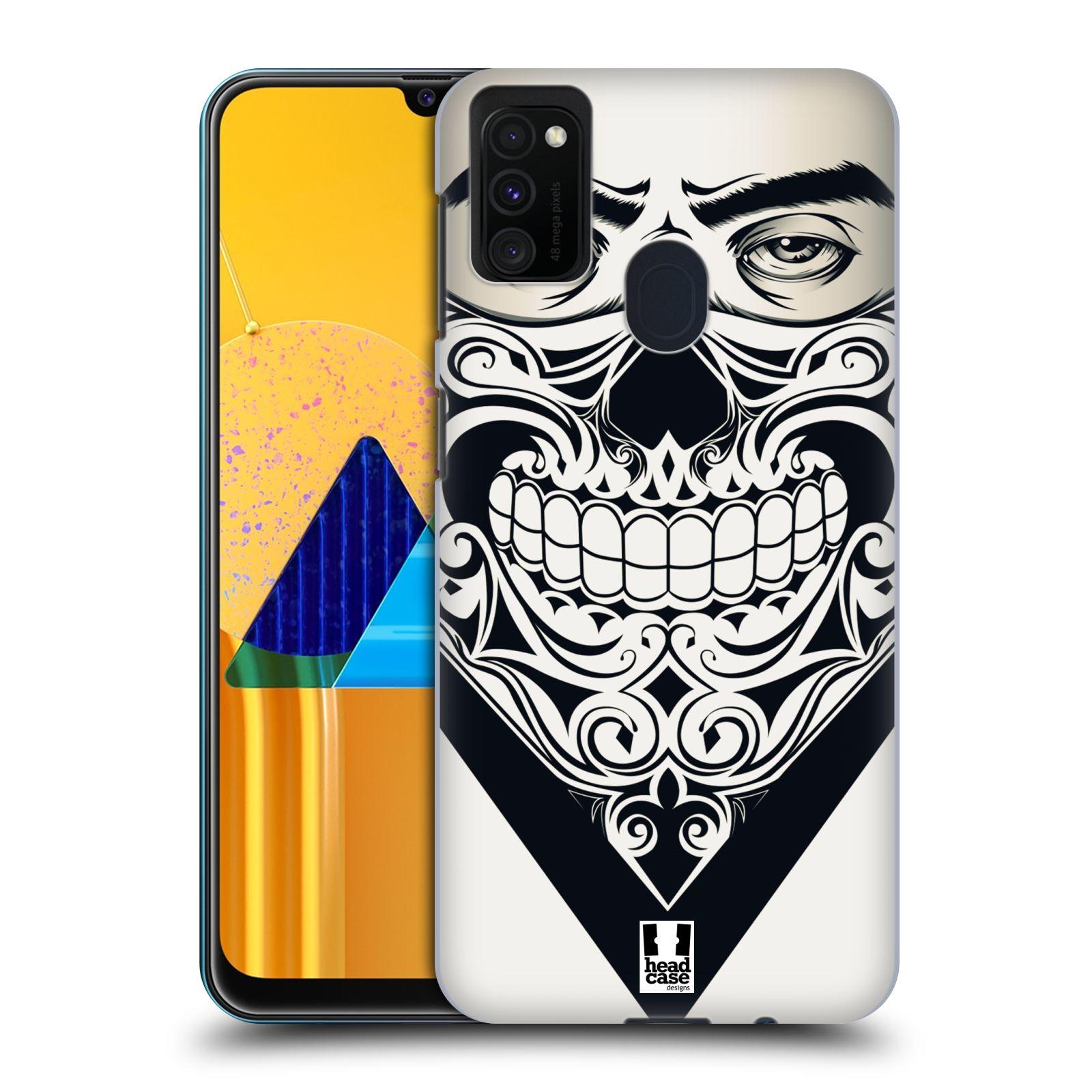 Plastové pouzdro na mobil Samsung Galaxy M21 - Head Case - LEBKA BANDANA