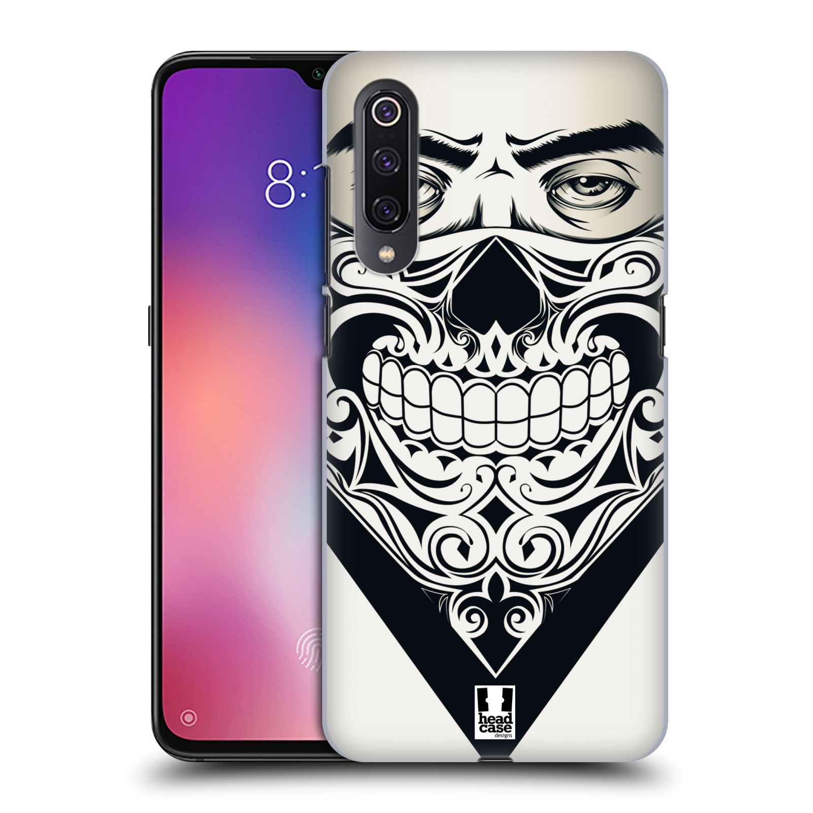 Plastové pouzdro na mobil Xiaomi Mi 9 - Head Case - LEBKA BANDANA