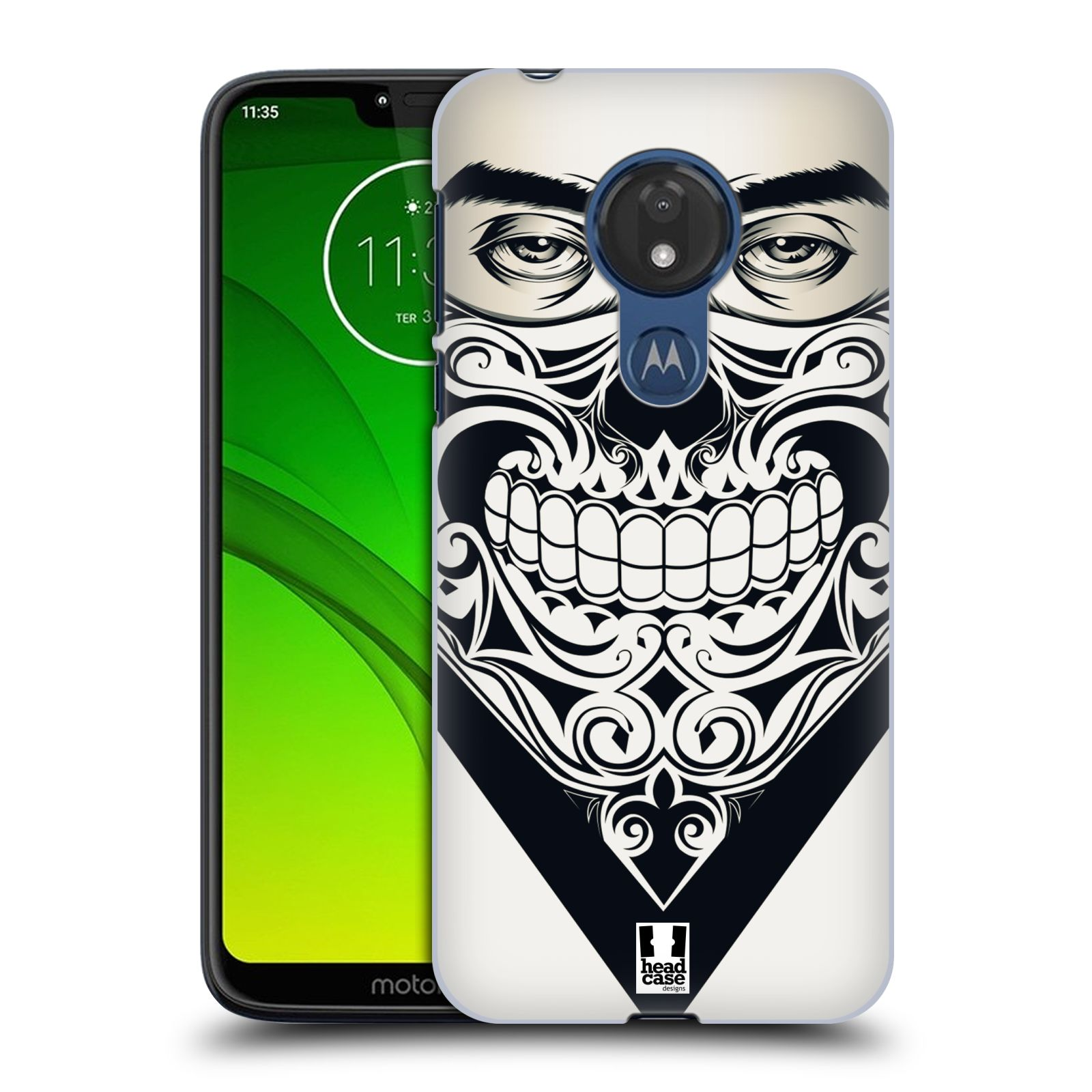 Plastové pouzdro na mobil Motorola Moto G7 Power - Head Case - LEBKA BANDANA