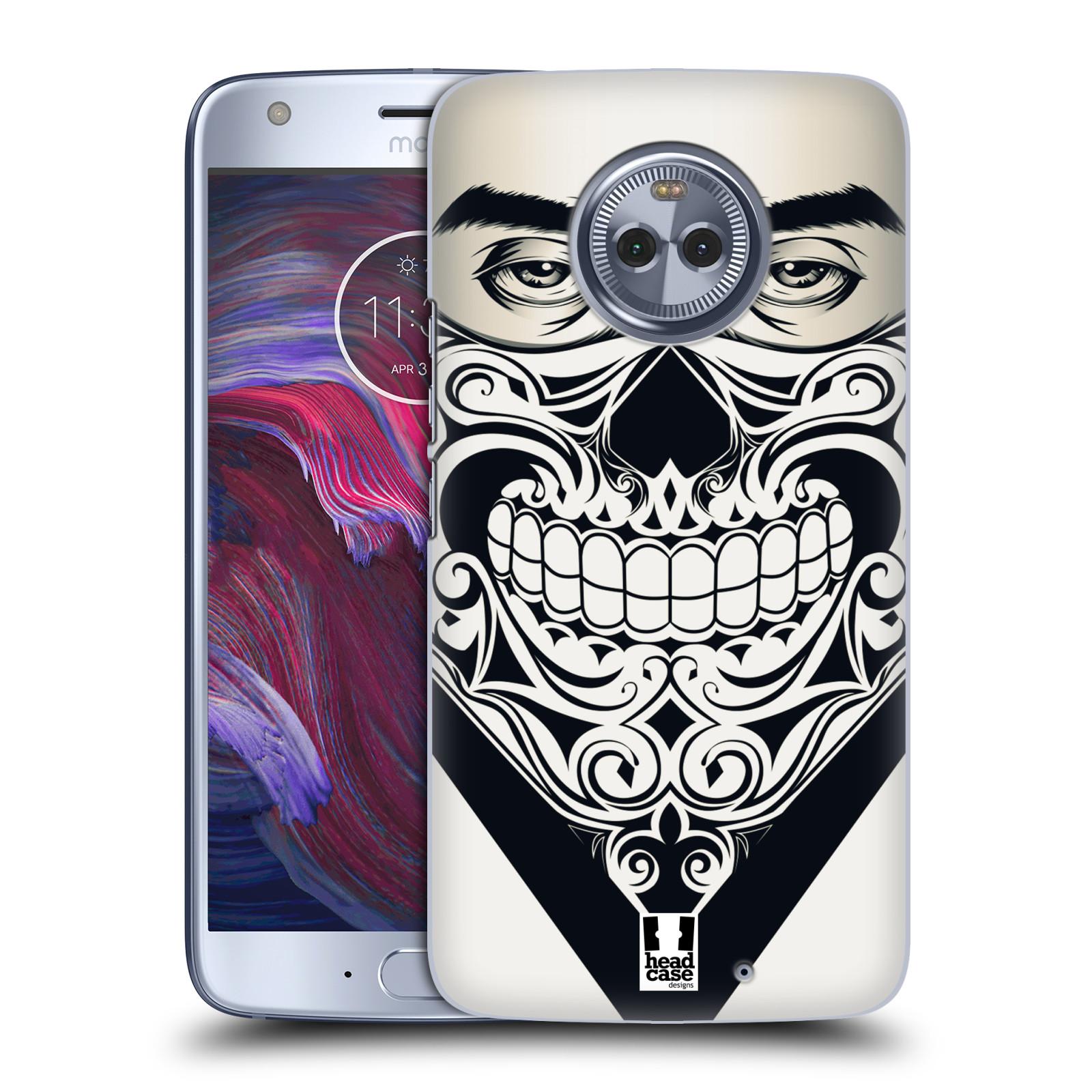 Plastové pouzdro na mobil Lenovo Moto X4 - Head Case - LEBKA BANDANA