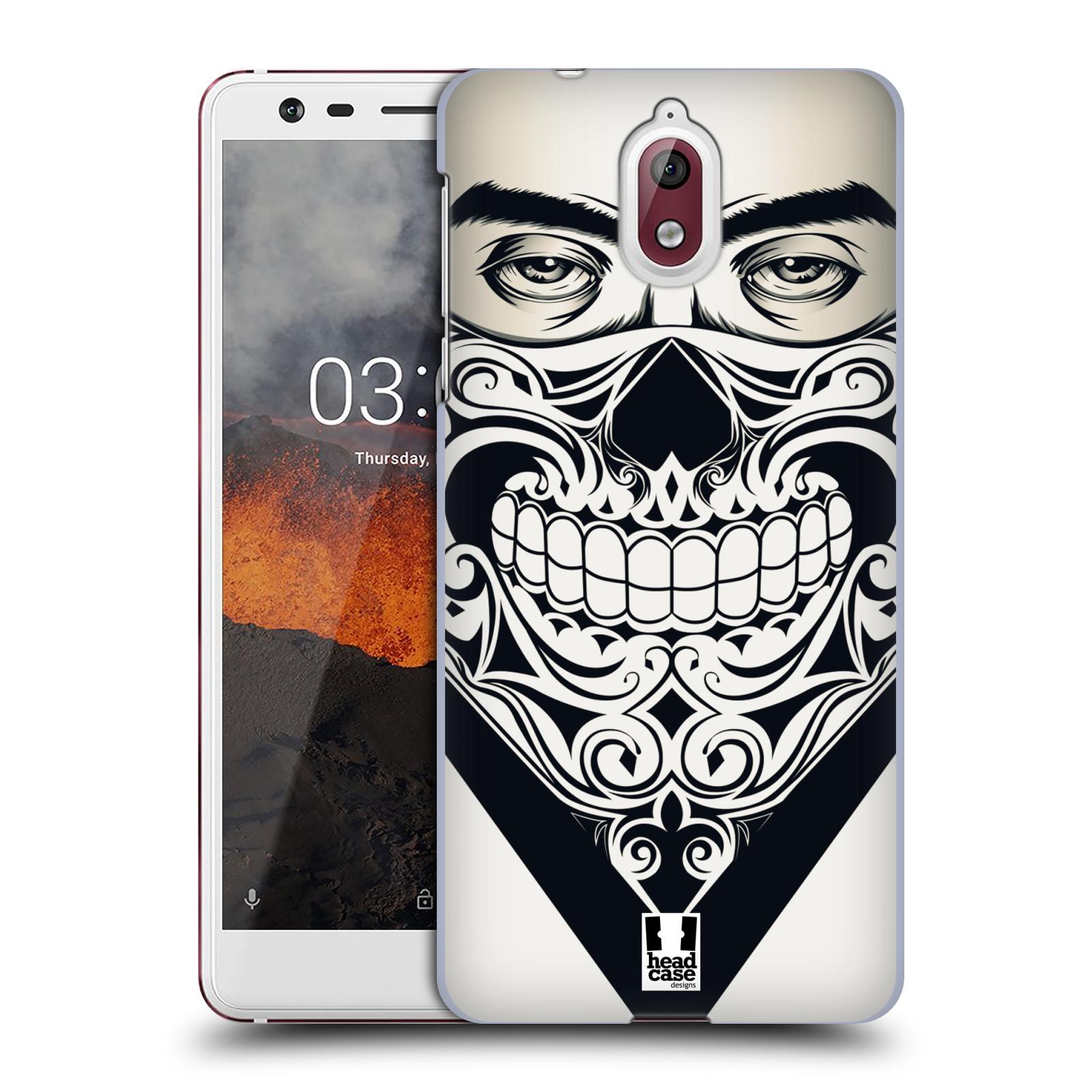Plastové pouzdro na mobil Nokia 3.1 - Head Case - LEBKA BANDANA