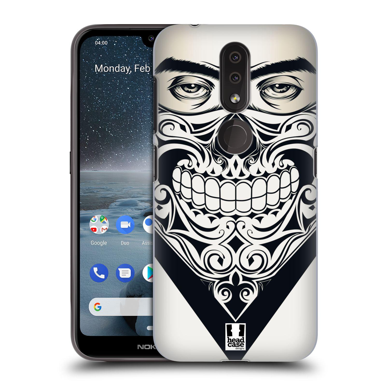 Plastové pouzdro na mobil Nokia 4.2 - Head Case - LEBKA BANDANA