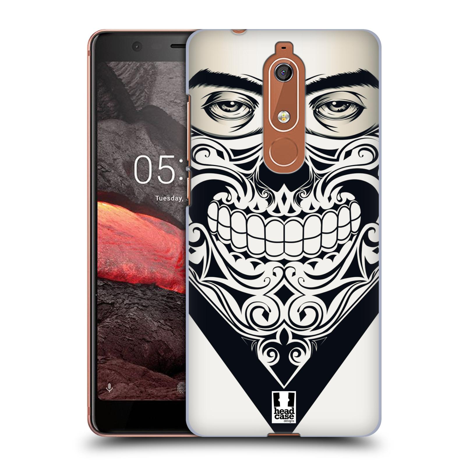 Plastové pouzdro na mobil Nokia 5.1 - Head Case - LEBKA BANDANA