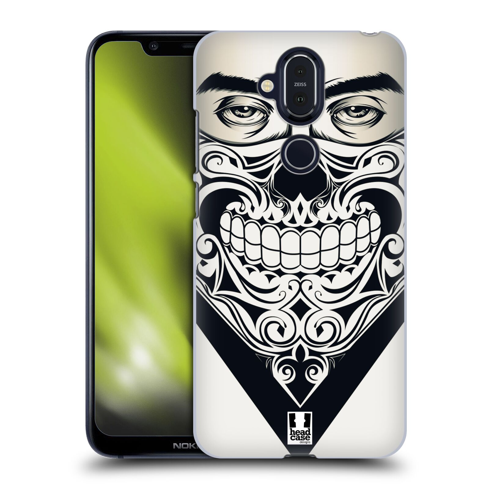 Plastové pouzdro na mobil Nokia 8.1 - Head Case - LEBKA BANDANA
