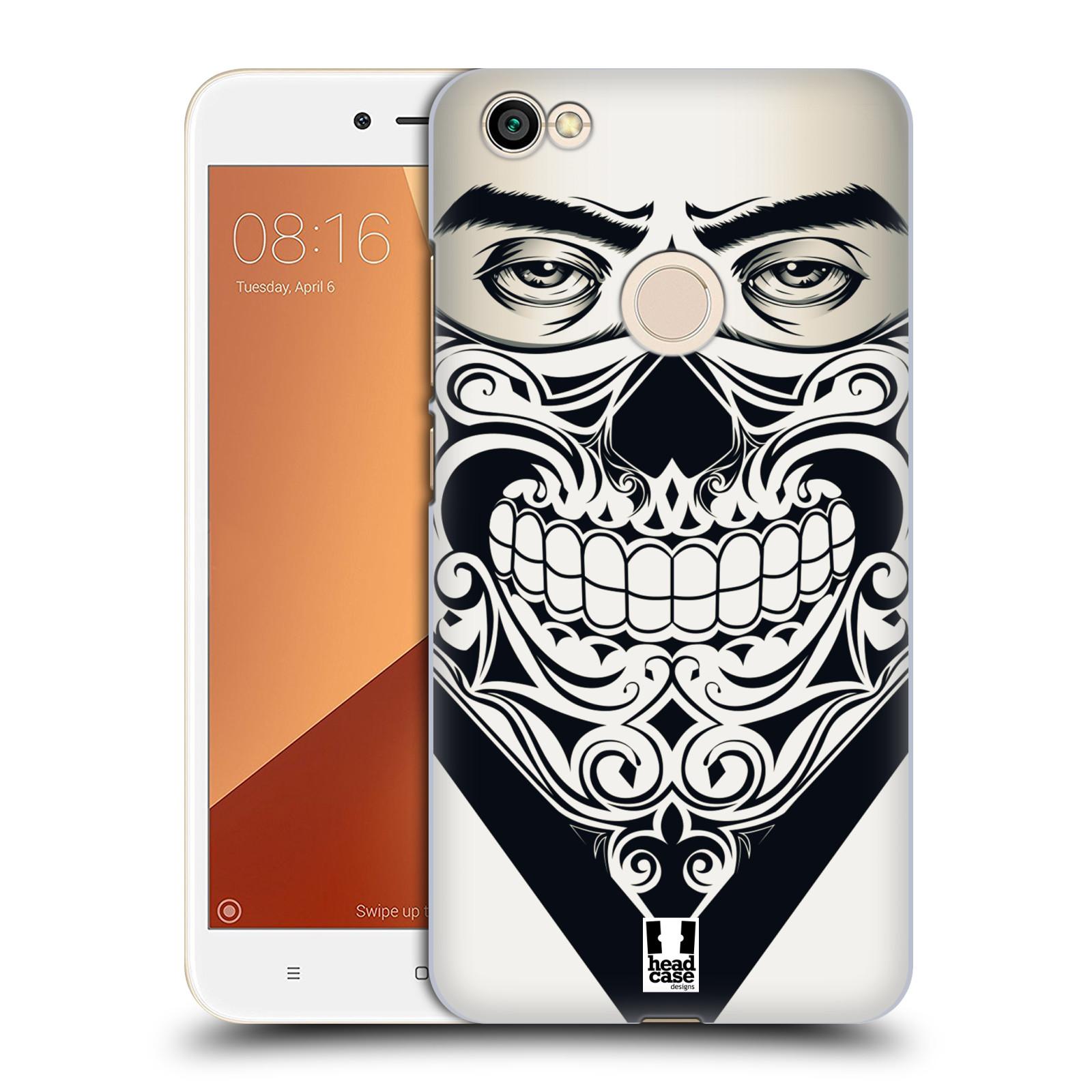 Plastové pouzdro na mobil Xiaomi Redmi Note 5A Prime - Head Case - LEBKA BANDANA