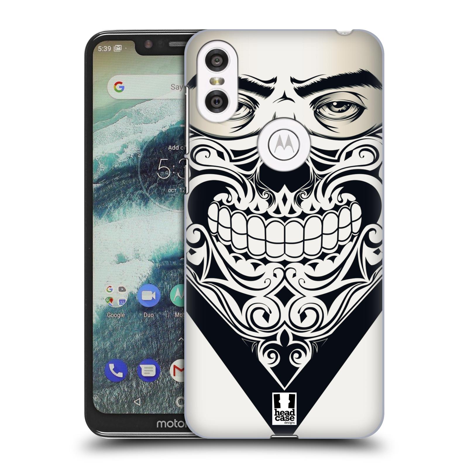 Plastové pouzdro na mobil Motorola One - Head Case - LEBKA BANDANA