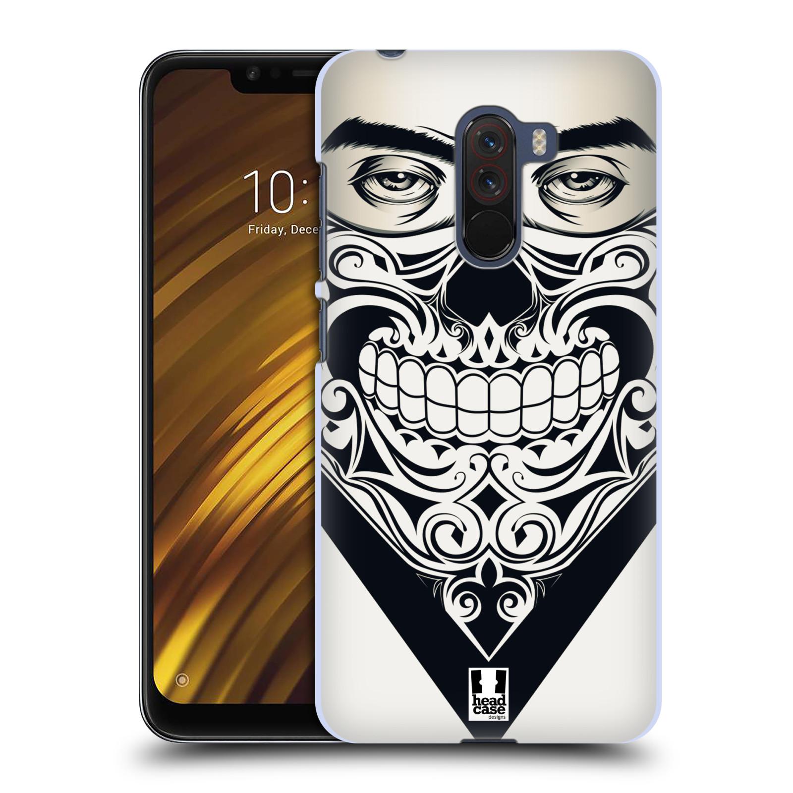 Plastové pouzdro na mobil Xiaomi Pocophone F1 - Head Case - LEBKA BANDANA