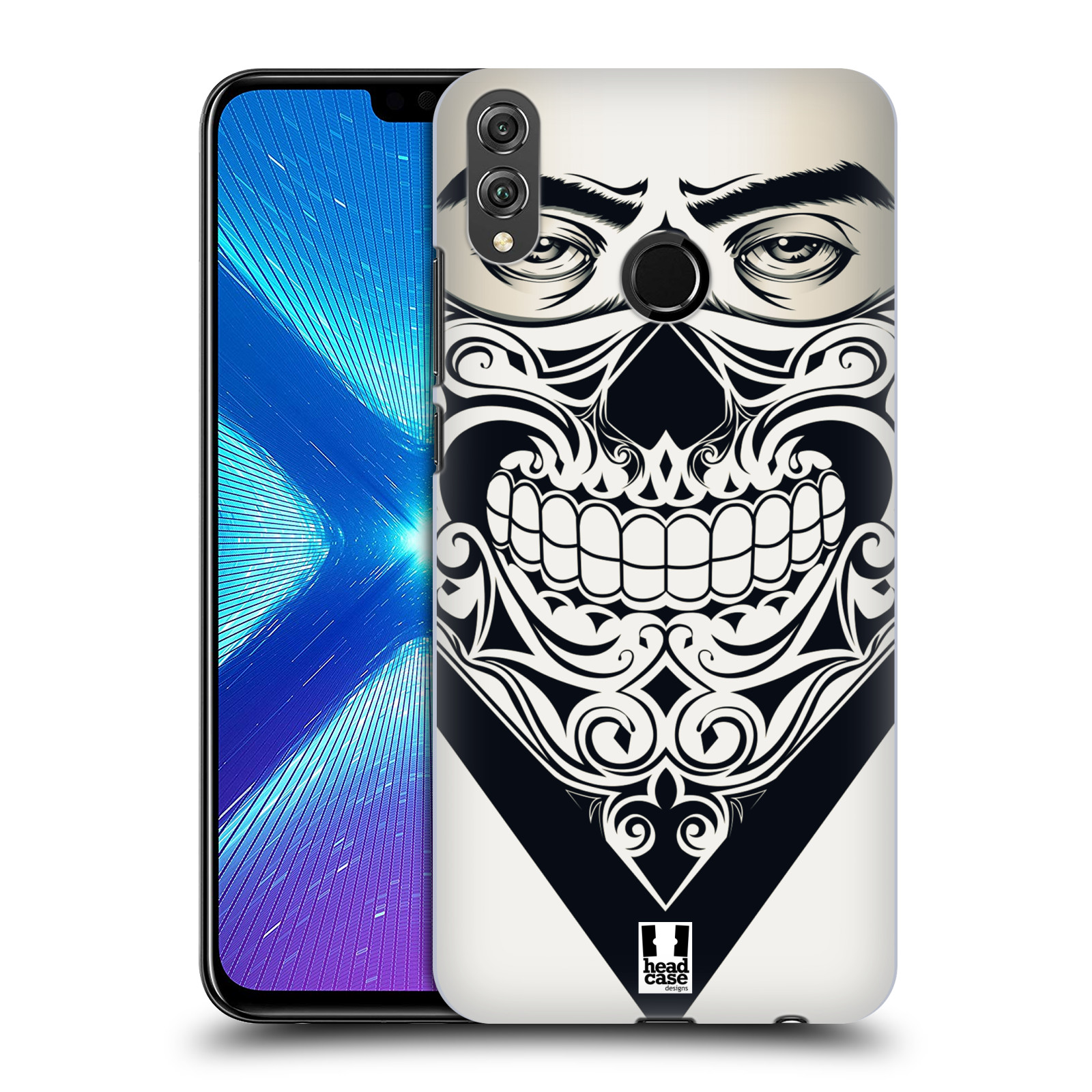 Plastové pouzdro na mobil Honor 8X - Head Case - LEBKA BANDANA