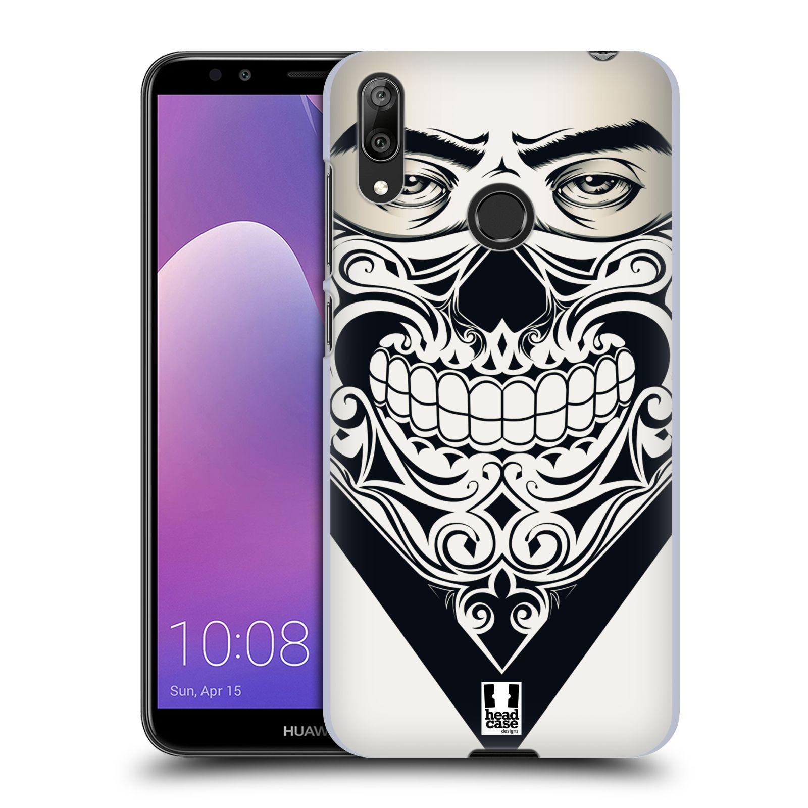 Plastové pouzdro na mobil Huawei Y7 (2019) - Head Case - LEBKA BANDANA