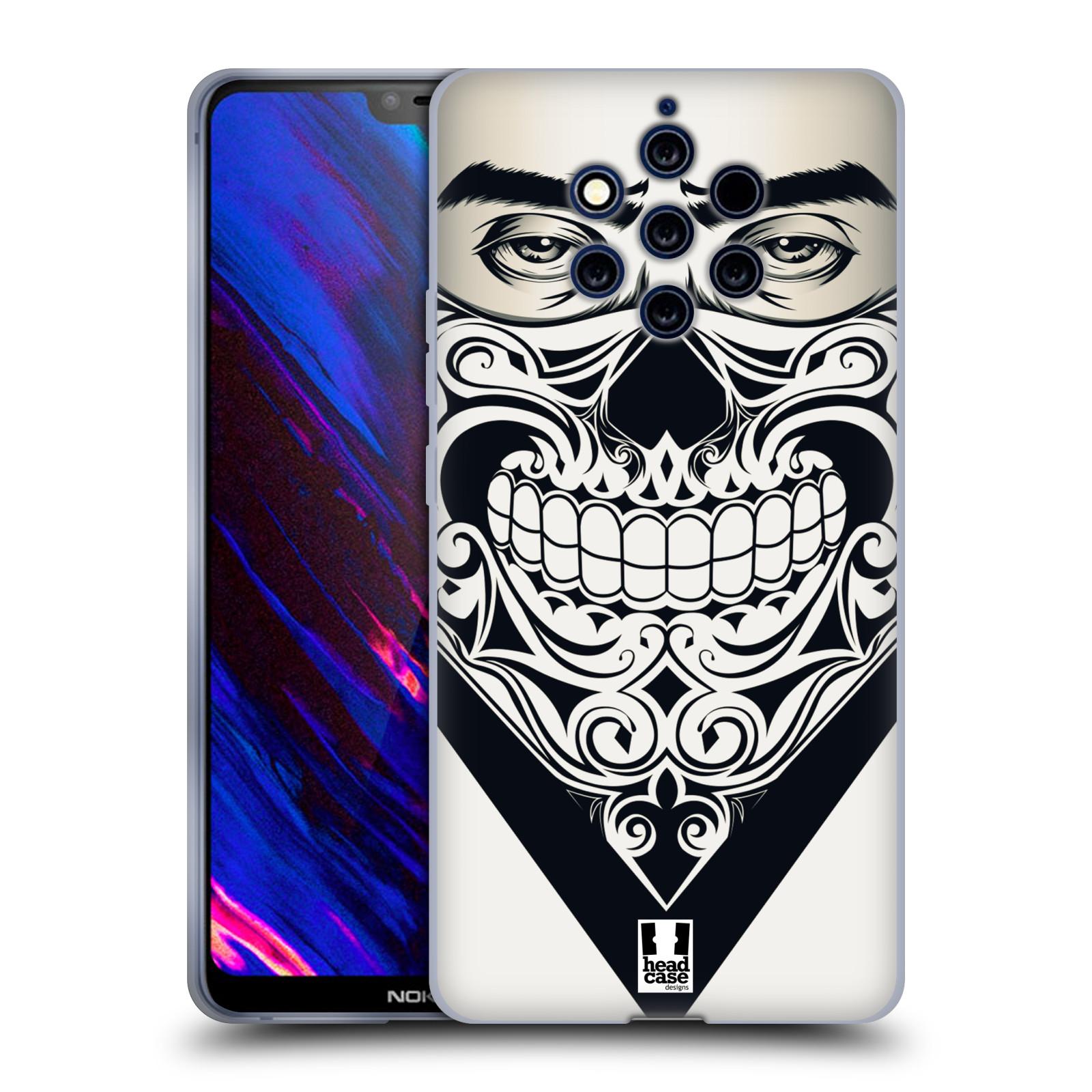Silikonové pouzdro na mobil Nokia 9 PureView - Head Case - LEBKA BANDANA