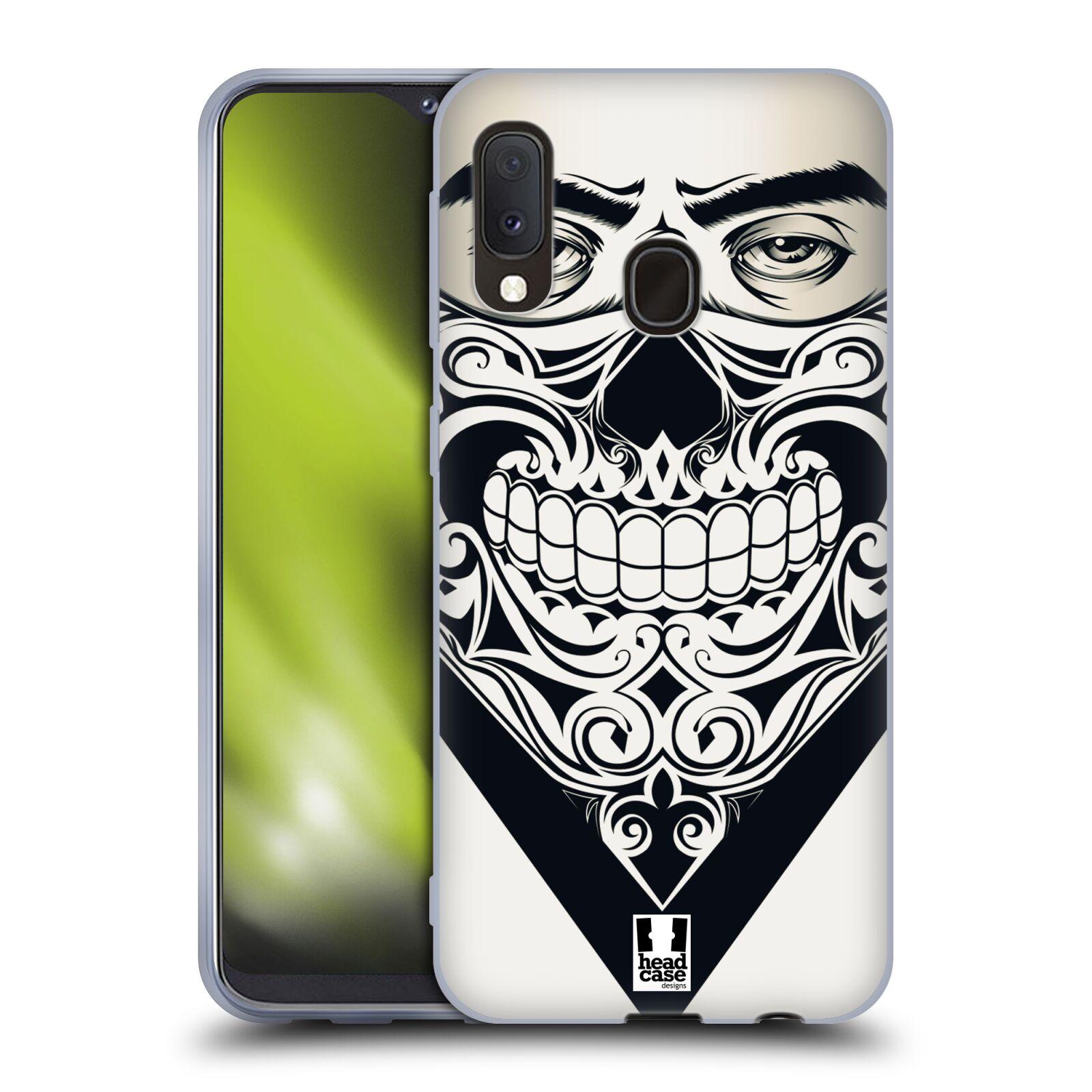 Silikonové pouzdro na mobil Samsung Galaxy A20e - Head Case - LEBKA BANDANA