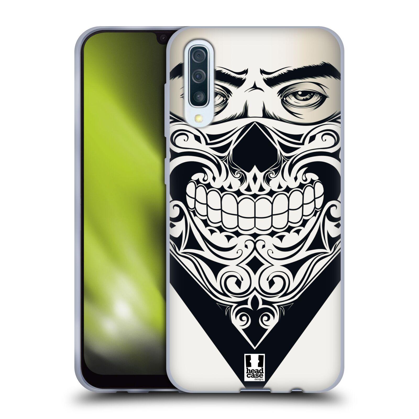 Silikonové pouzdro na mobil Samsung Galaxy A50 / A30s - Head Case - LEBKA BANDANA