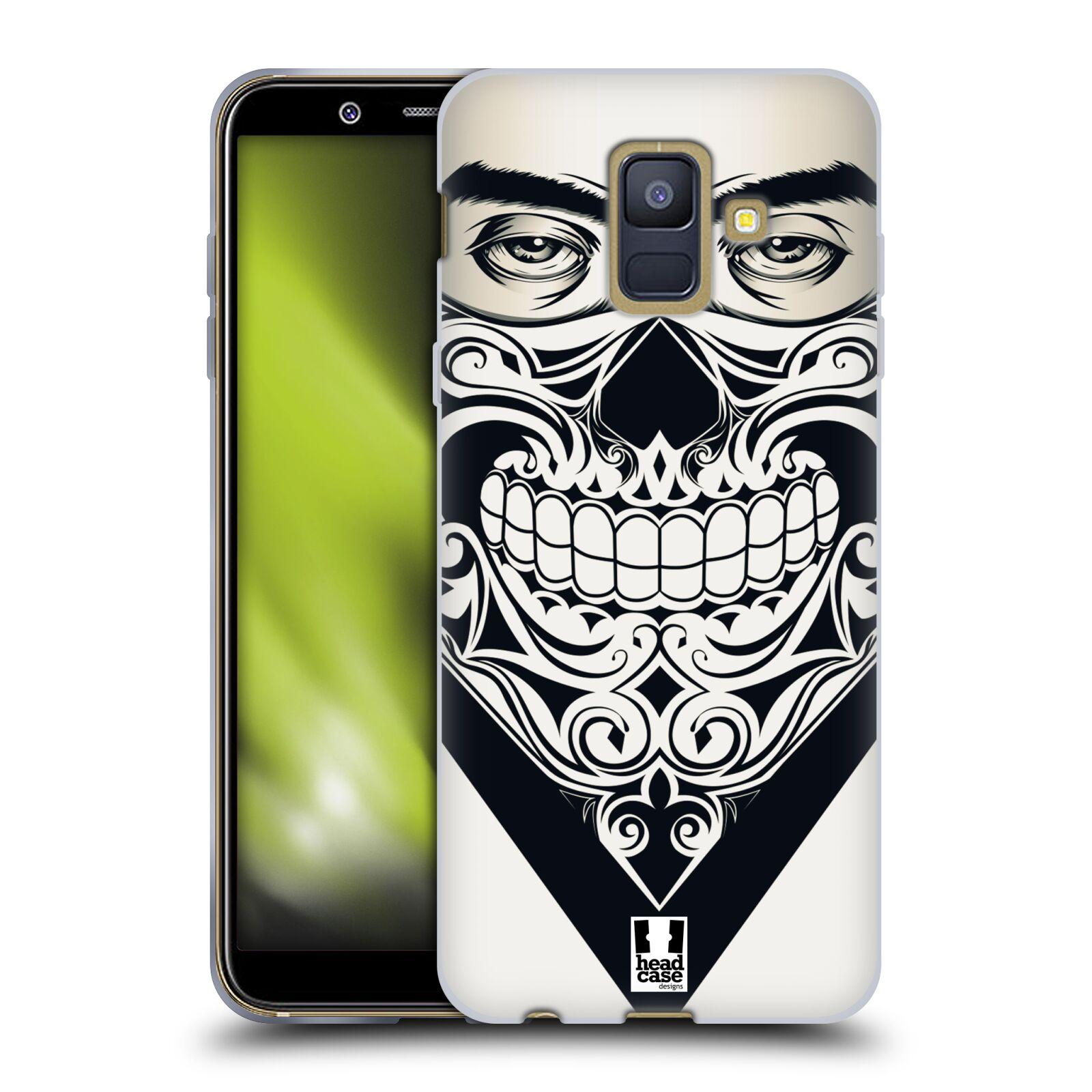 Silikonové pouzdro na mobil Samsung Galaxy A6 (2018) - Head Case - LEBKA BANDANA