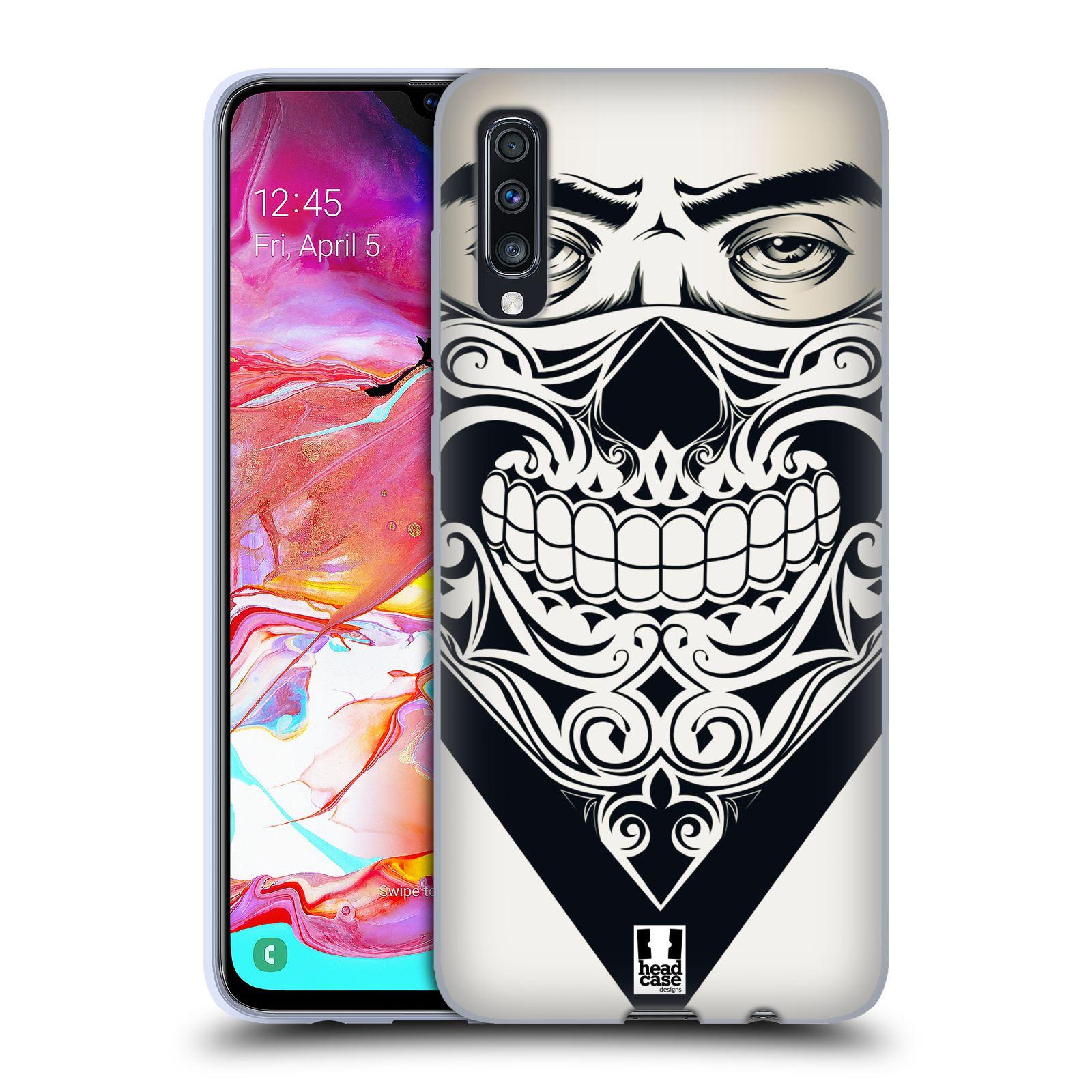 Silikonové pouzdro na mobil Samsung Galaxy A70 - Head Case - LEBKA BANDANA