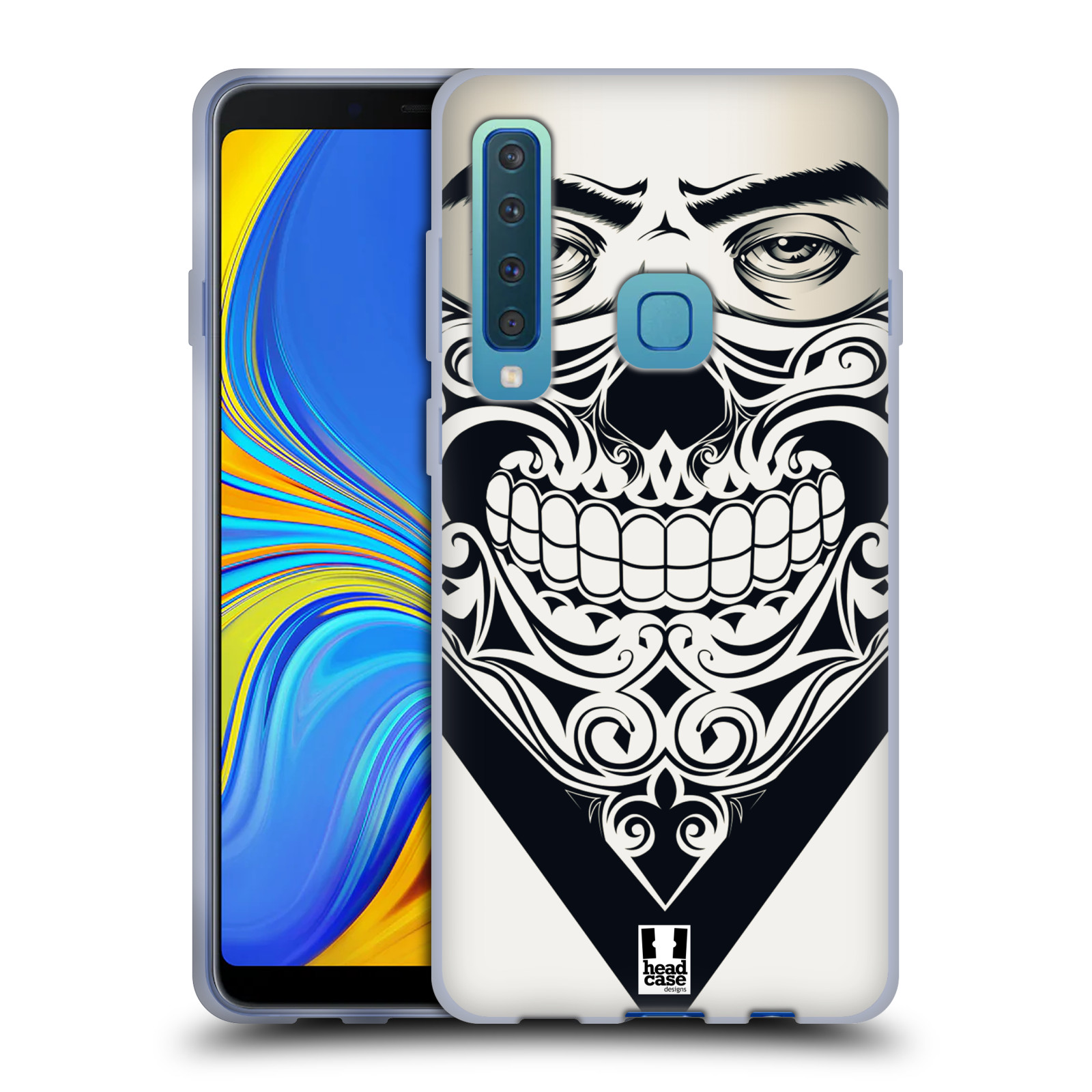 Silikonové pouzdro na mobil Samsung Galaxy A9 (2018) - Head Case - LEBKA BANDANA