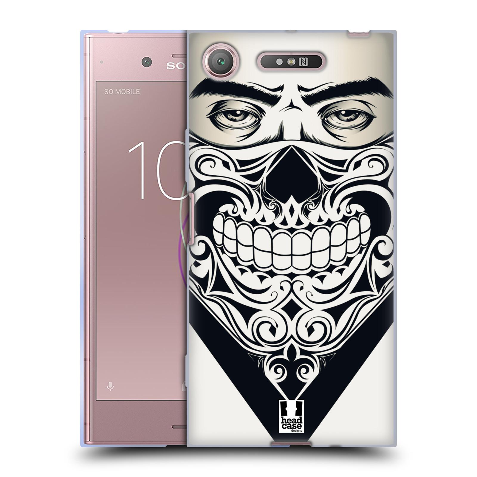 Silikonové pouzdro na mobil Sony Xperia XZ1 - Head Case - LEBKA BANDANA