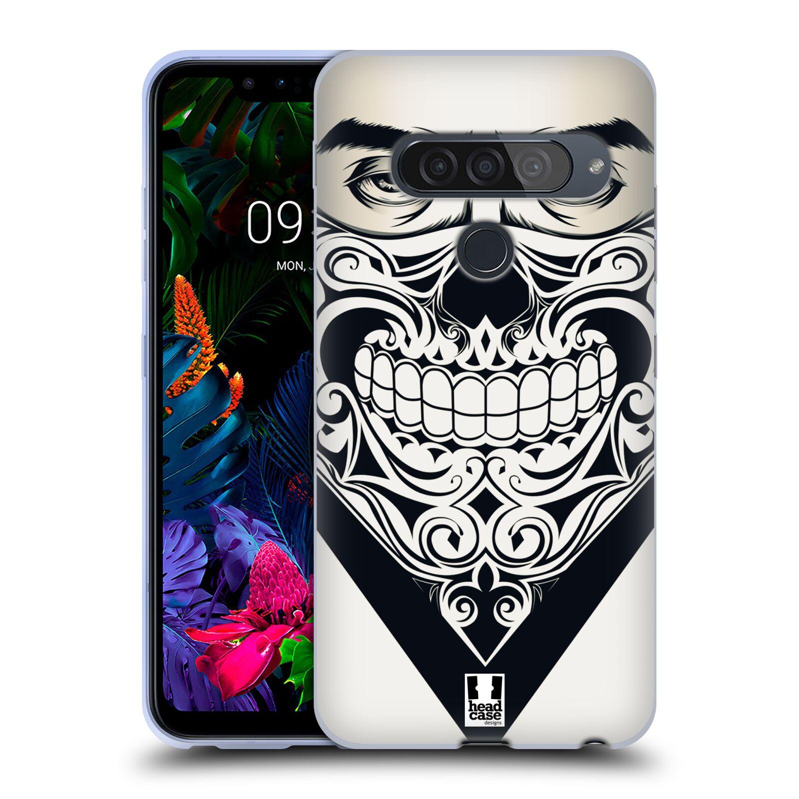 Silikonové pouzdro na mobil LG G8s ThinQ - Head Case - LEBKA BANDANA