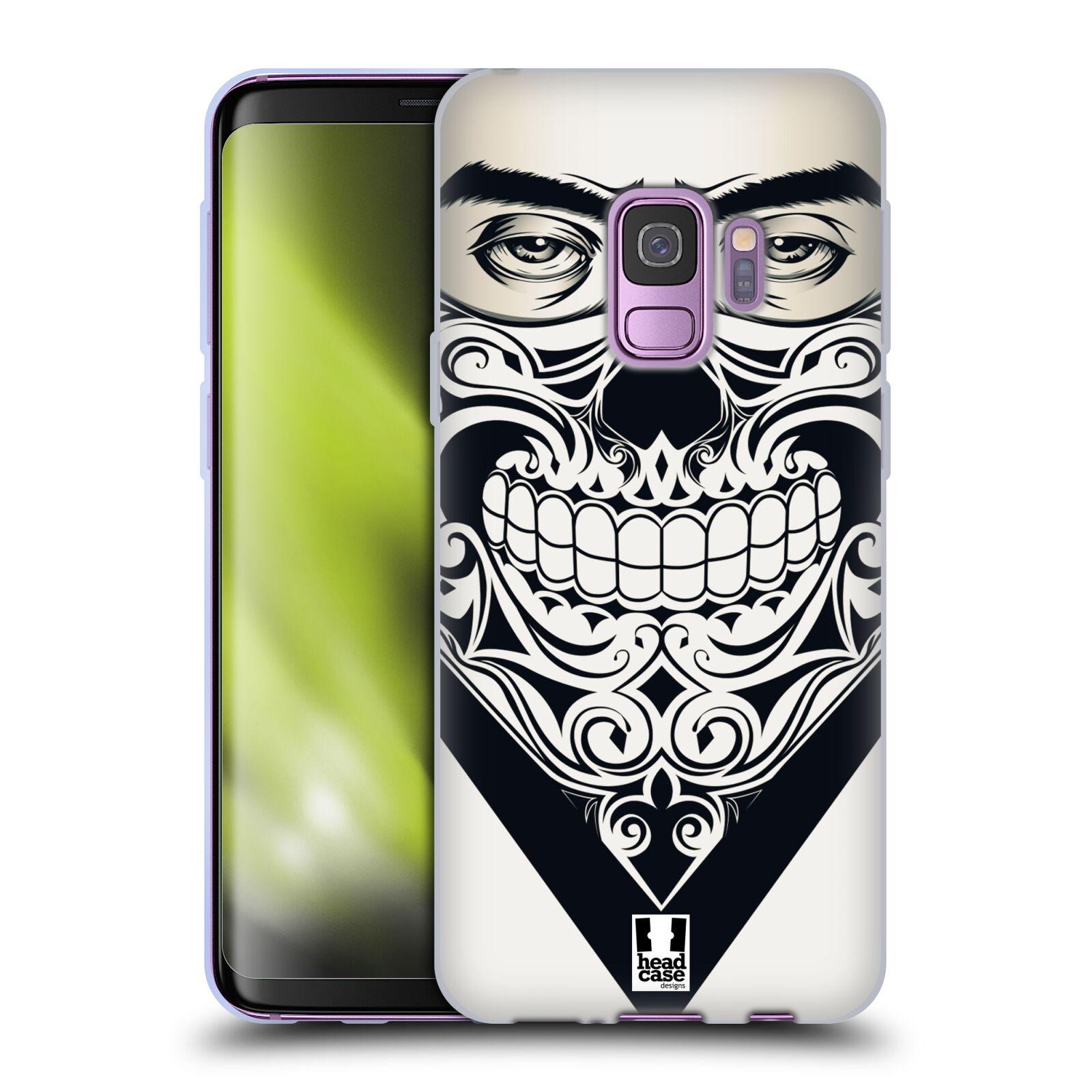 Silikonové pouzdro na mobil Samsung Galaxy S9 - Head Case - LEBKA BANDANA