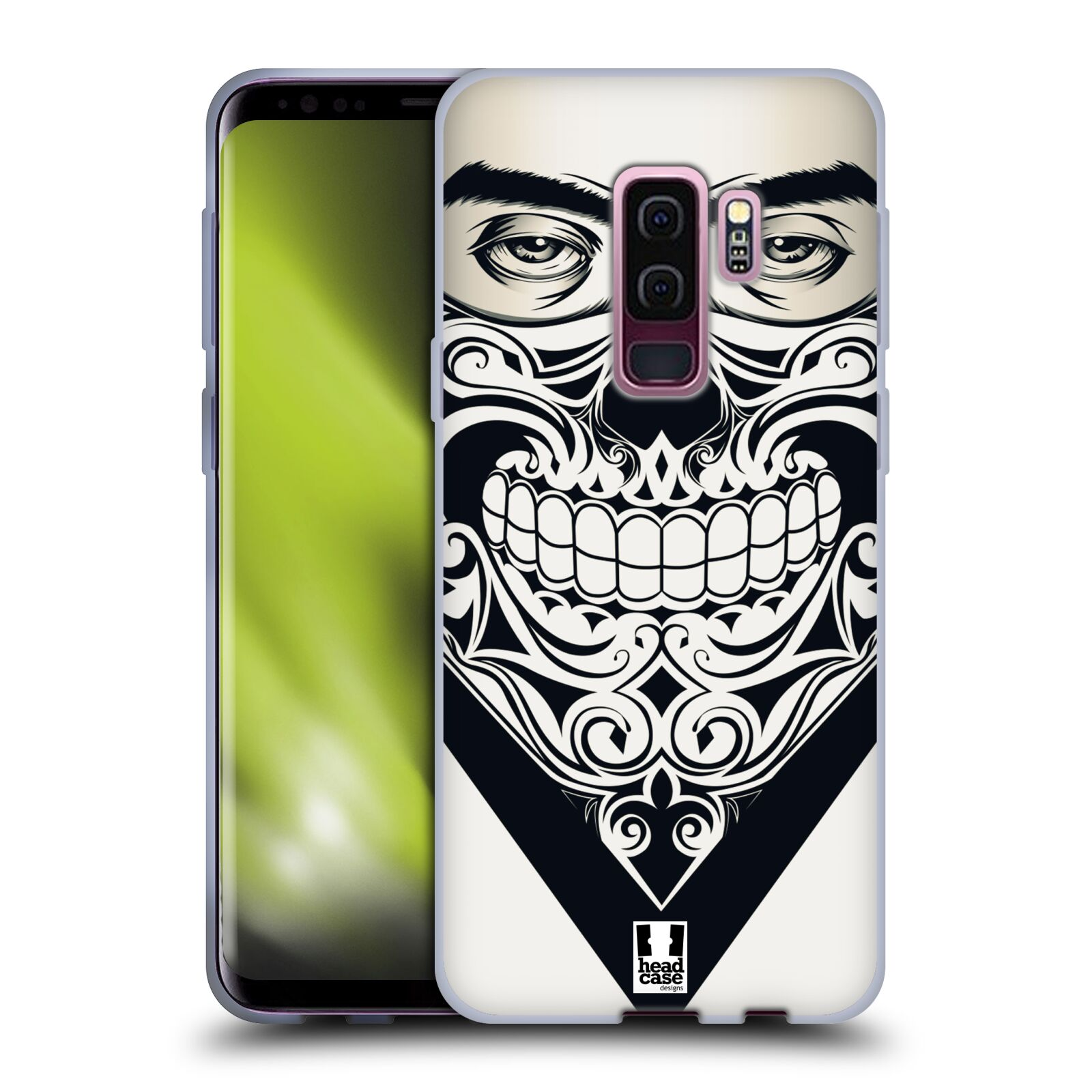 Silikonové pouzdro na mobil Samsung Galaxy S9 Plus - Head Case - LEBKA BANDANA