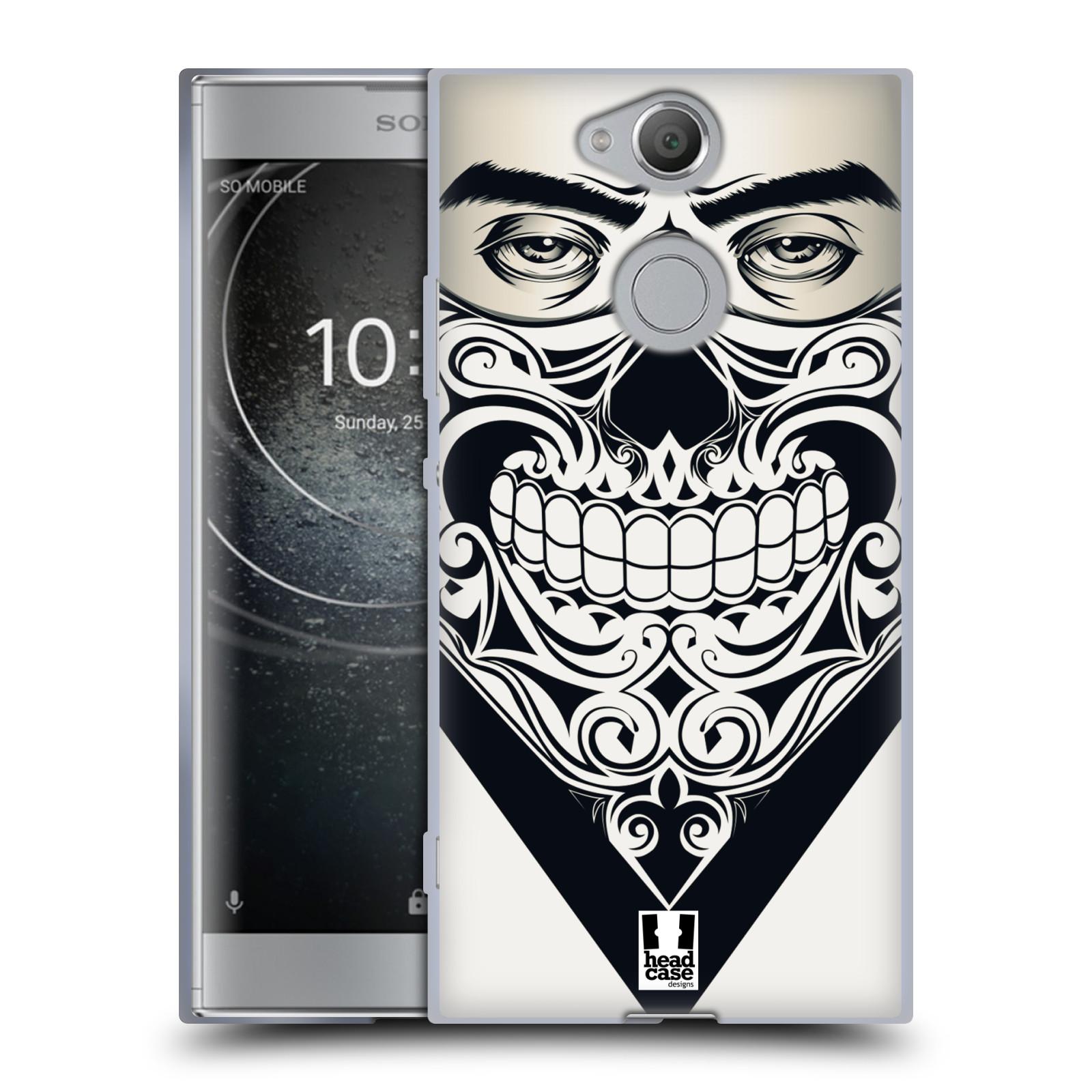 Silikonové pouzdro na mobil Sony Xperia XA2 - Head Case - LEBKA BANDANA