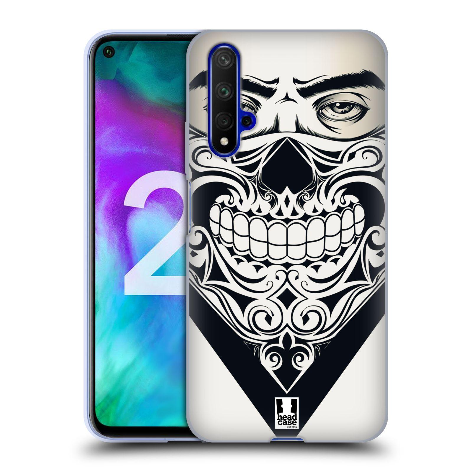 Silikonové pouzdro na mobil Honor 20 - Head Case - LEBKA BANDANA
