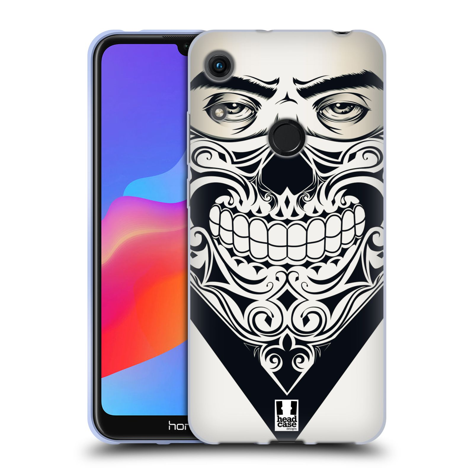 Silikonové pouzdro na mobil Honor 8A - Head Case - LEBKA BANDANA