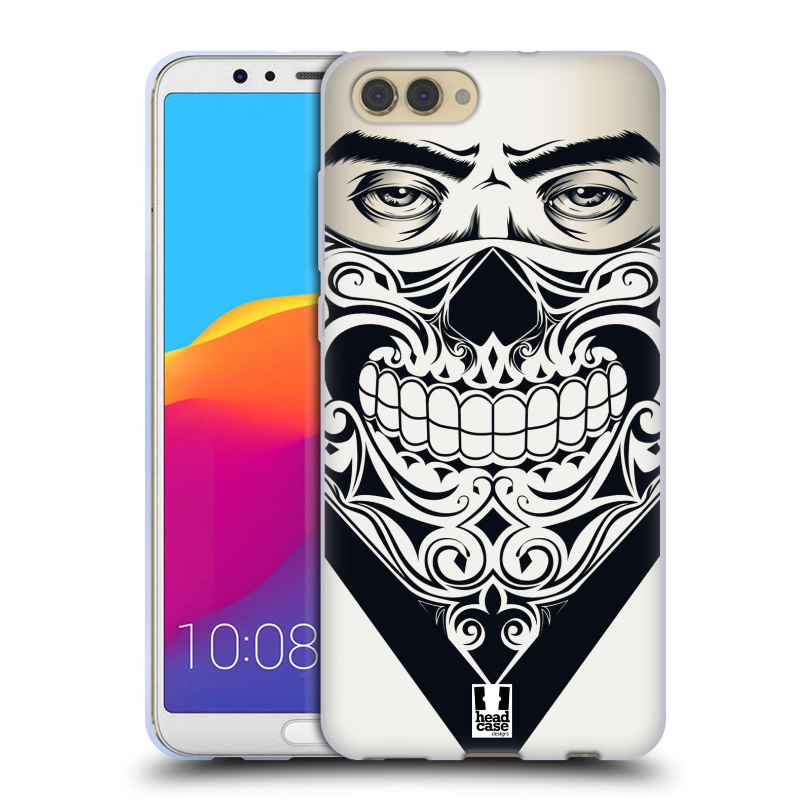 Silikonové pouzdro na mobil Honor View 10 - Head Case - LEBKA BANDANA