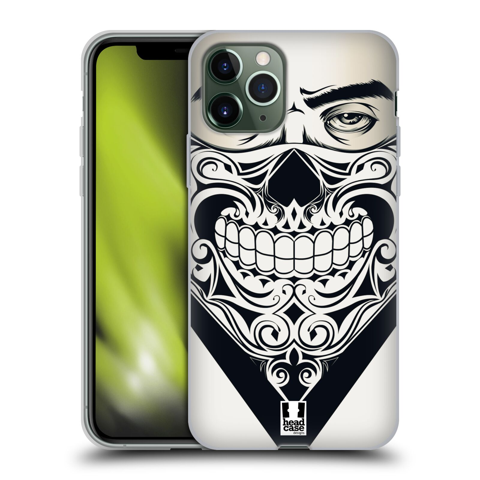 cover gucci iphone 8 amazon | Silikonové pouzdro na mobil Apple iPhone 11 Pro - Head Case - LEBKA BANDANA